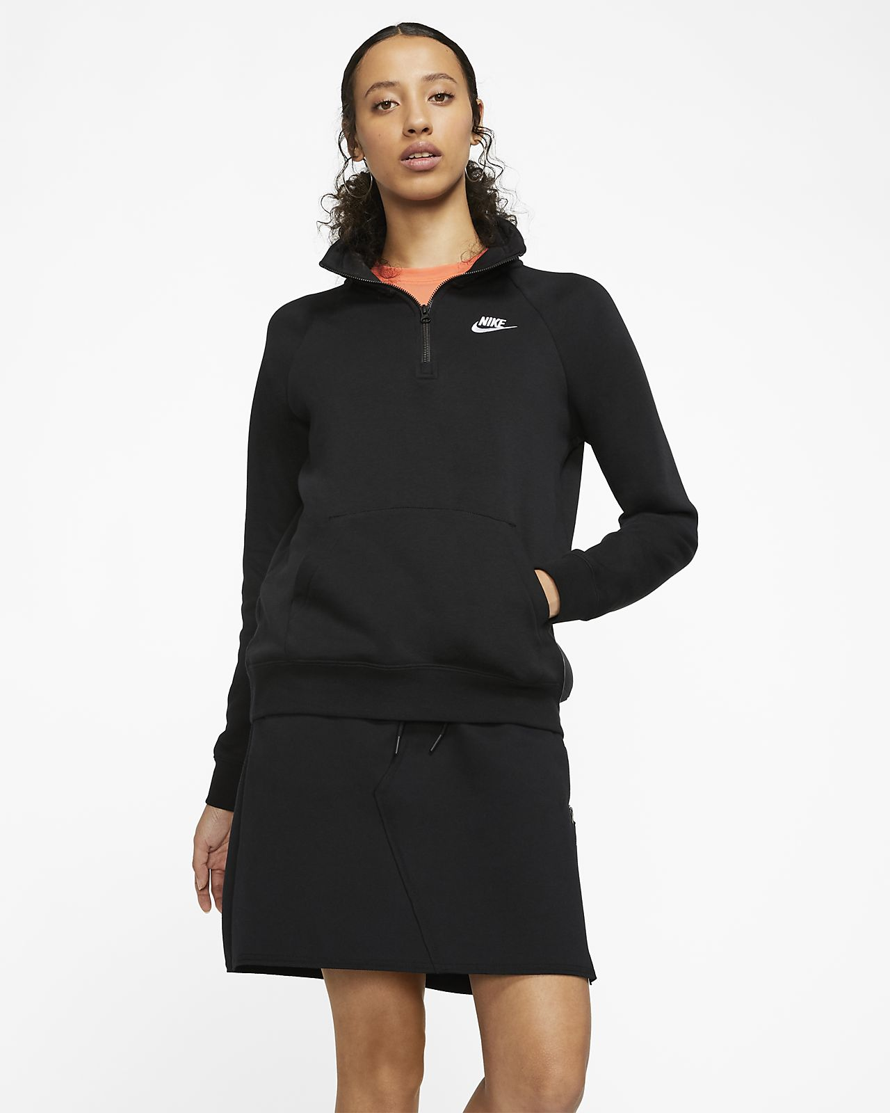 1/4 zip nike fleece