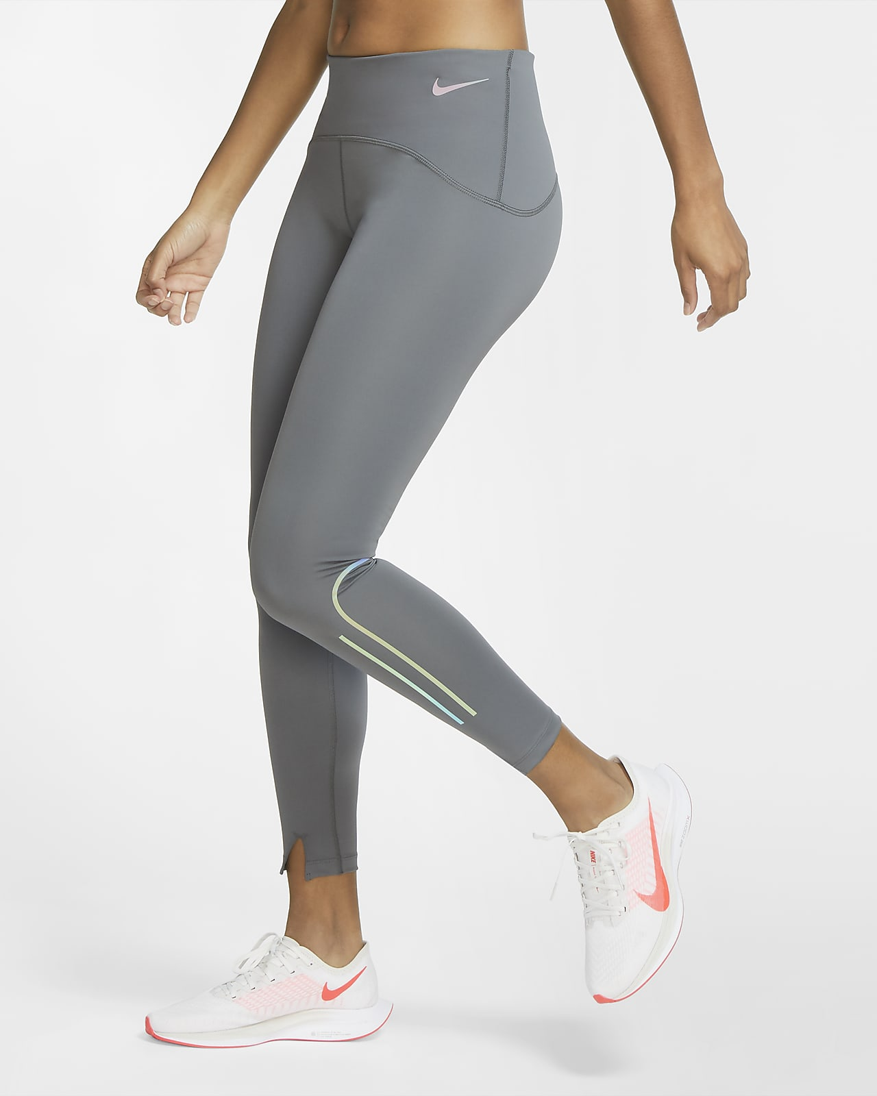 Tights da running opachi a 7/8 Nike Speed - Donna