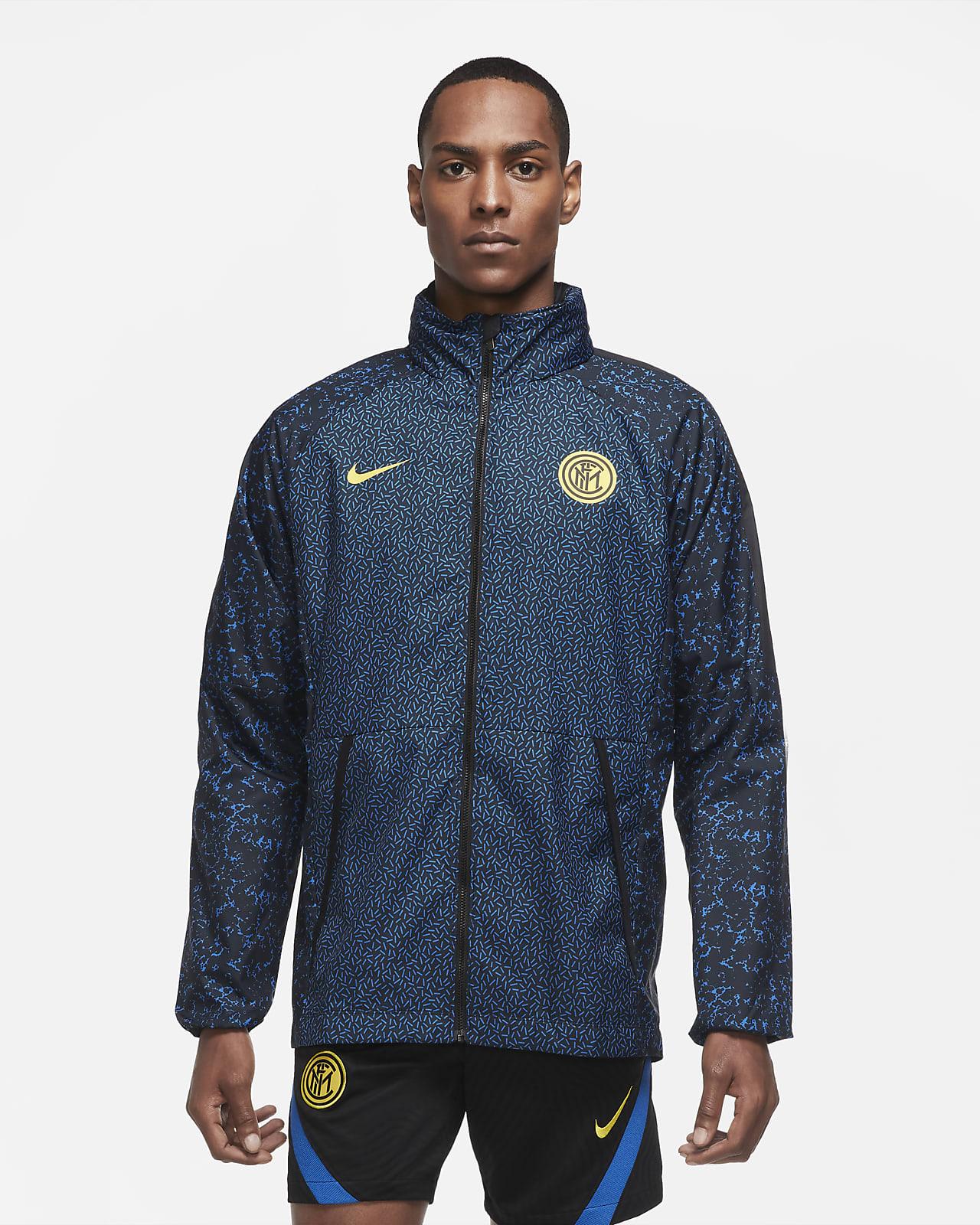 Inter Milan Men's Graphic Football Jacket