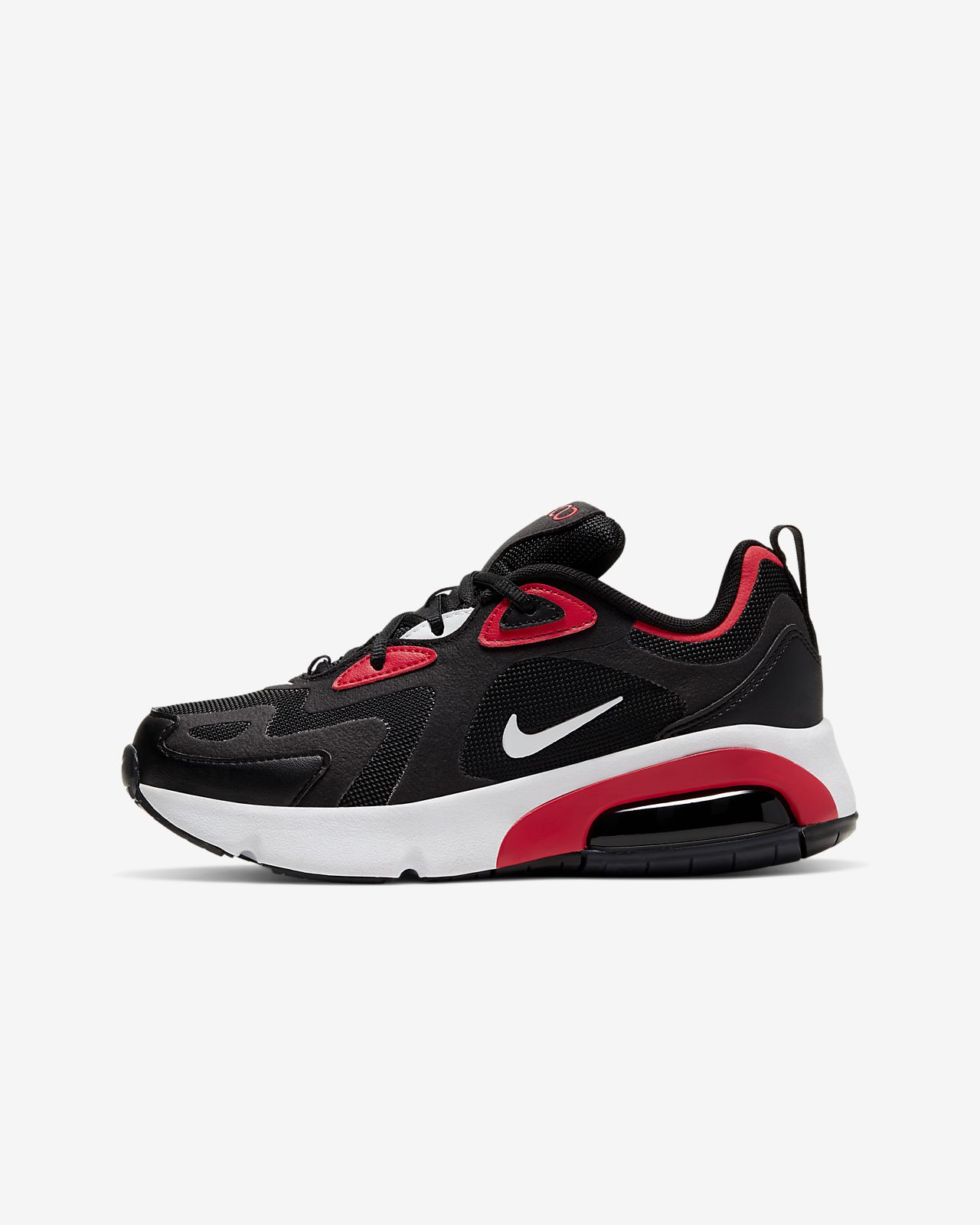 nike air max 200 rouge et blanche