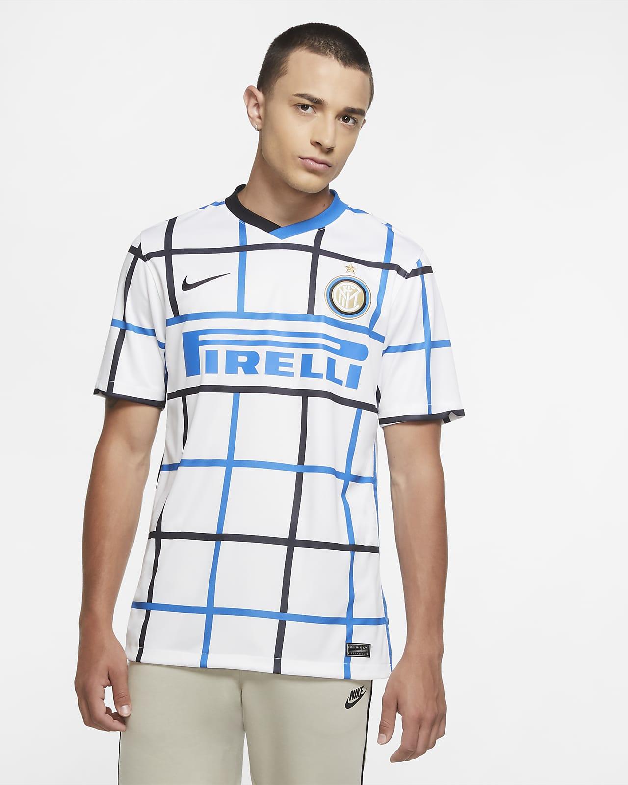 Inter Mailand 2020/21 Stadium Away Herren-Fußballtrikot