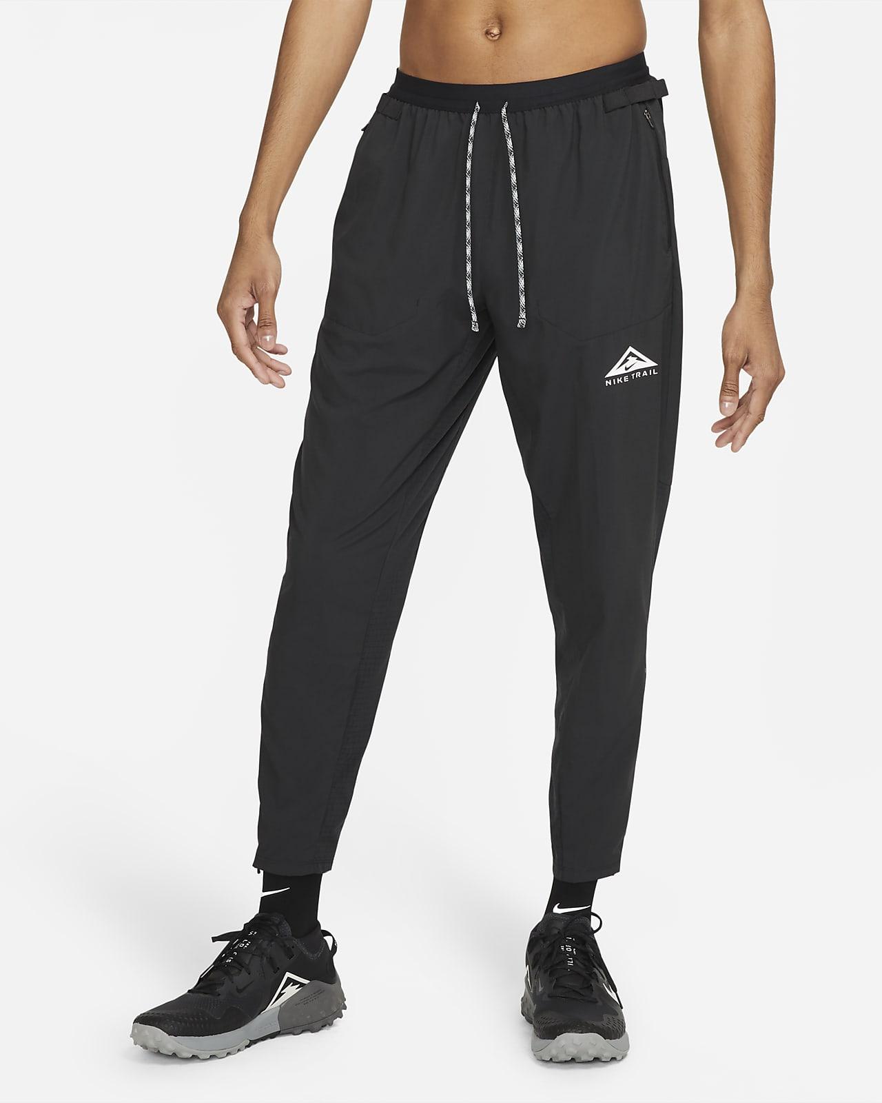 กางเกงวิ่งเทรลขายาวผู้ชายแบบทอ Nike Phenom Elite