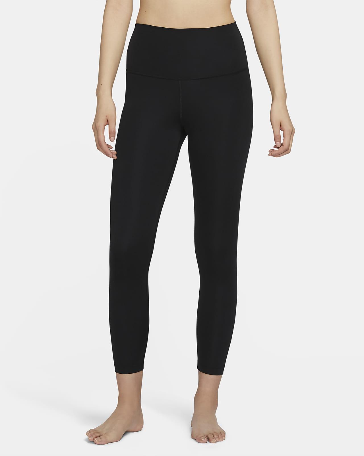 เลกกิ้งเอวสูง 7/8 ส่วนผู้หญิง Nike Yoga