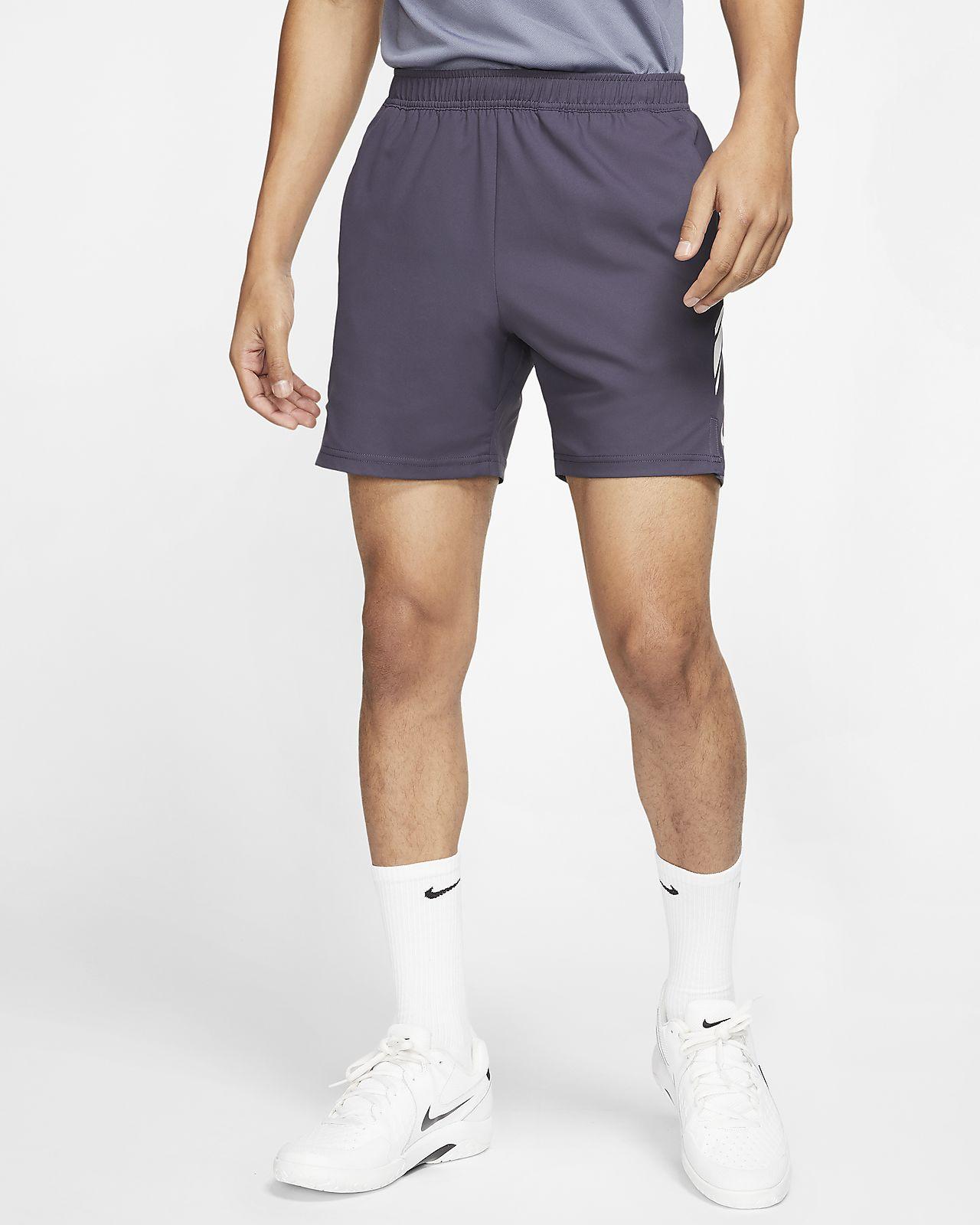 NikeCourt Dri-FIT tennisshorts til herre (18 cm)
