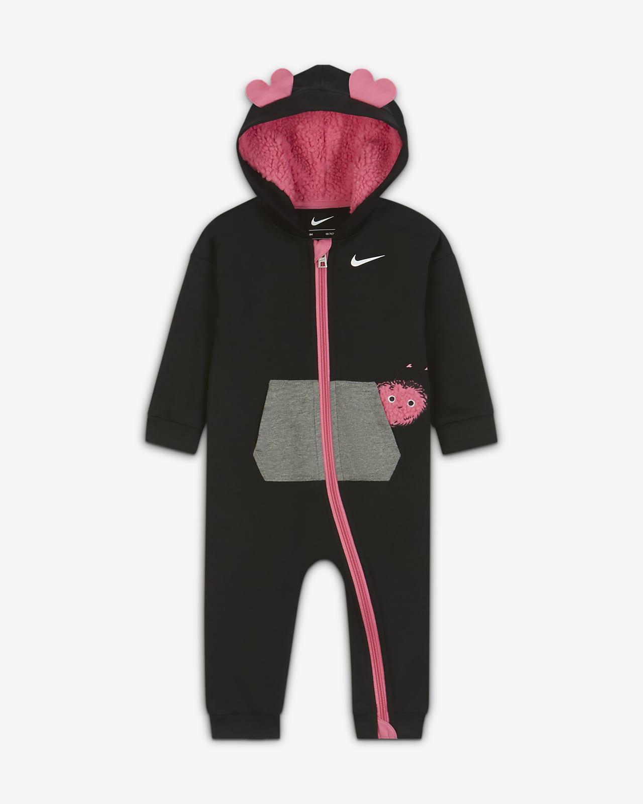 Nike Baby (0–9M) Full-Zip Overall