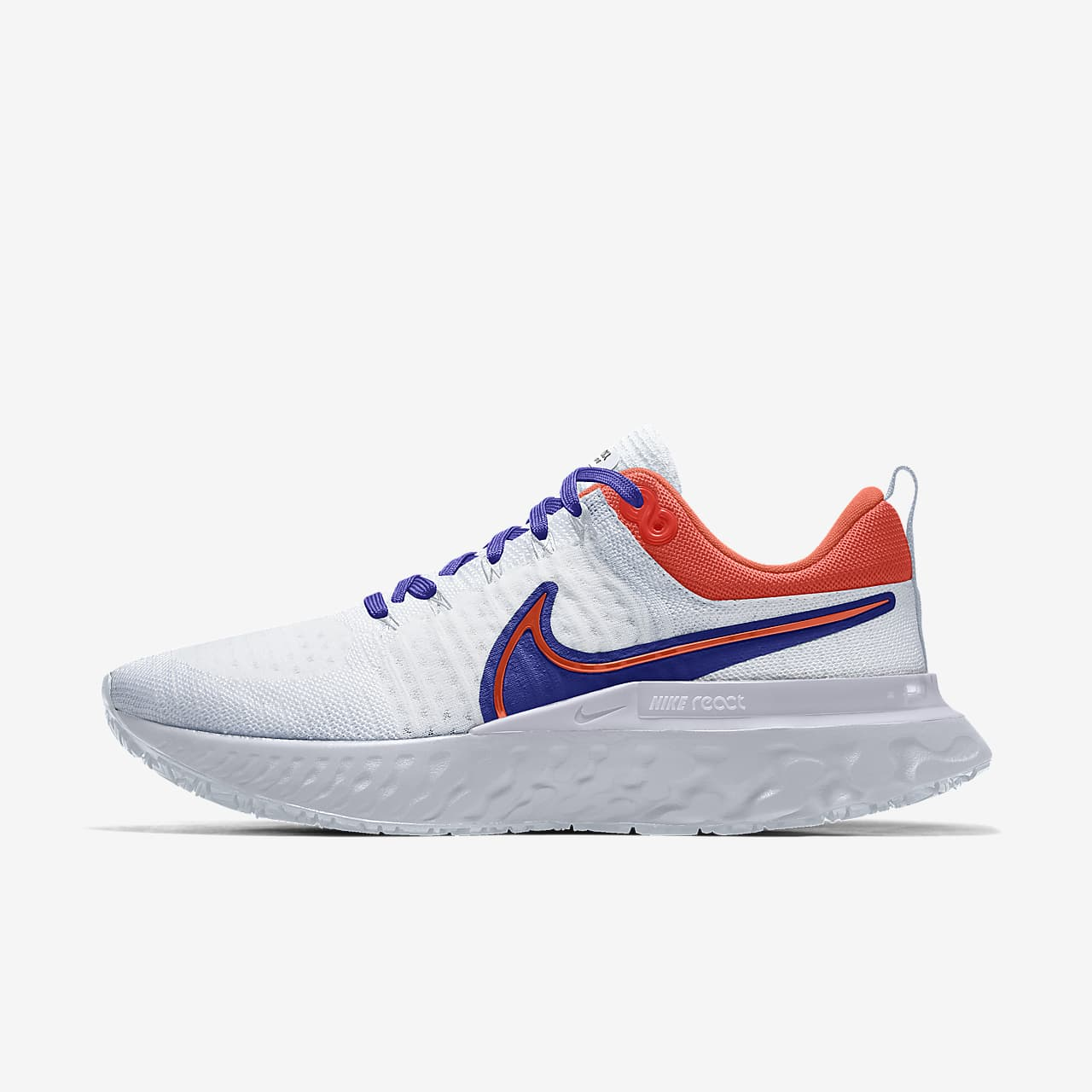 Nike React Infinity Run Flyknit 2 By You Men's Road Running Shoes