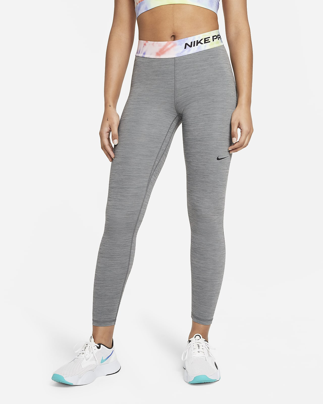 Nike Pro Women's 7/8 Tie-Dye Leggings
