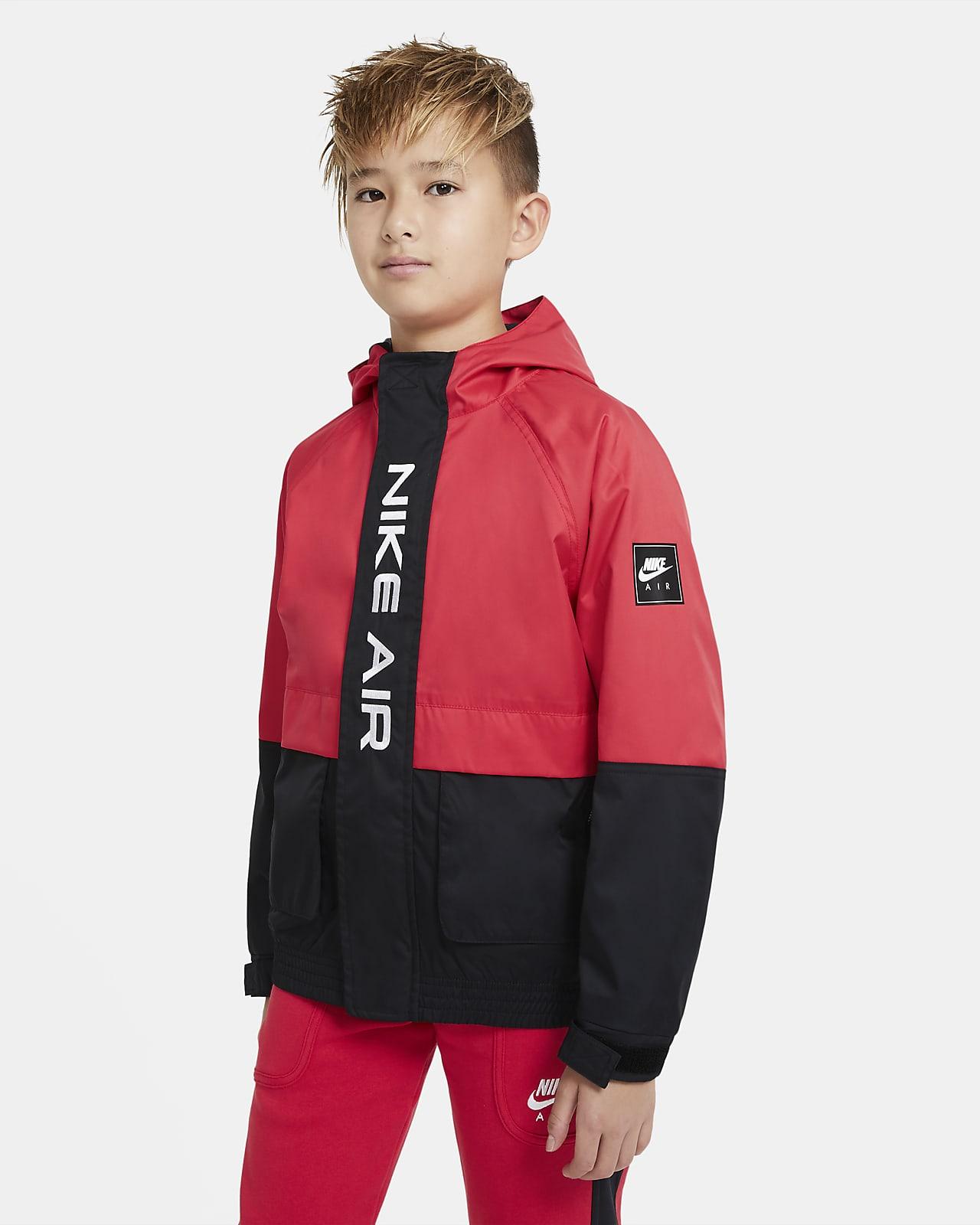 Куртка из тканого материала для мальчиков школьного возраста Nike Air