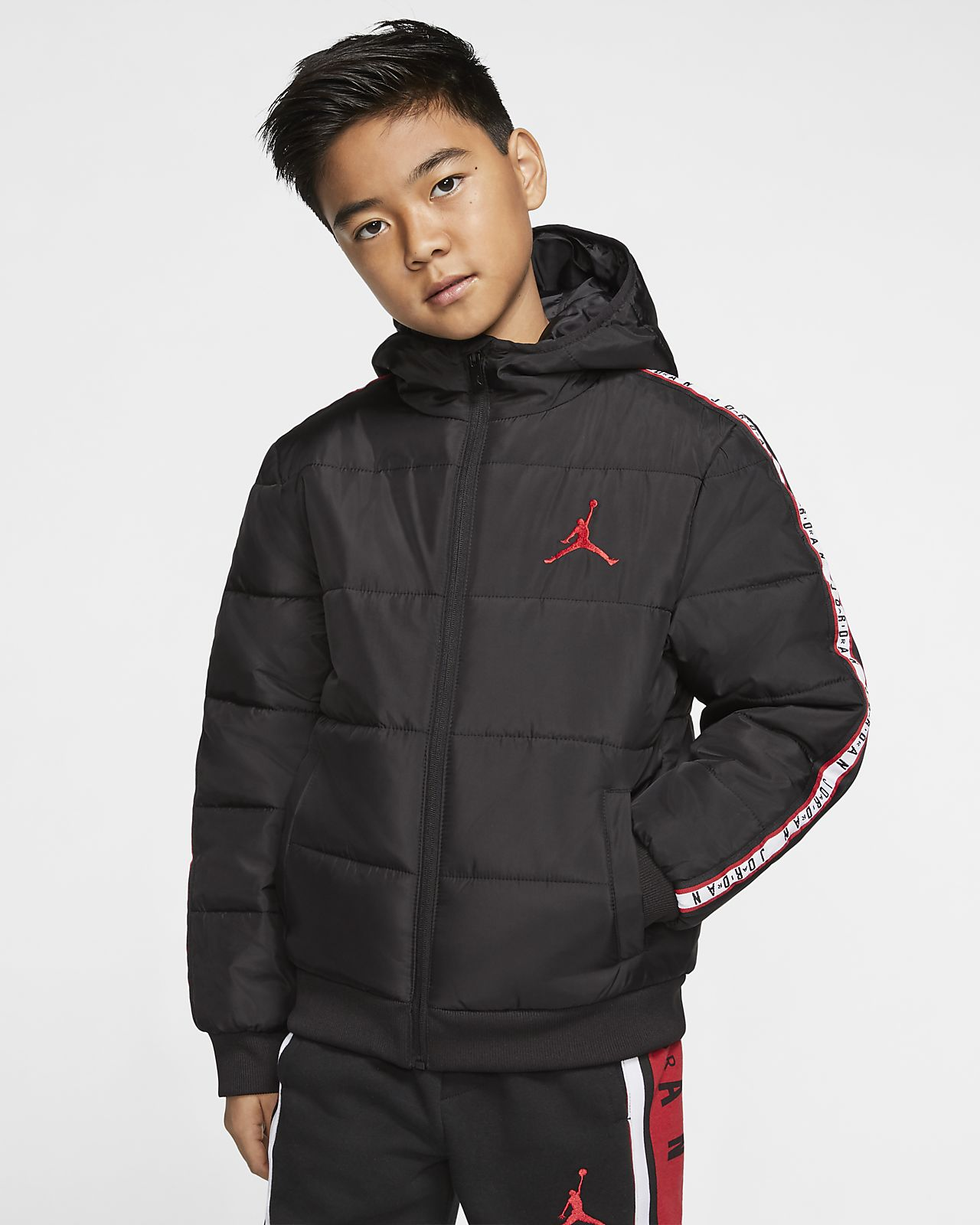 Jordan Jumpman Older Kids' (Boys') Taped Puffer Jacket
