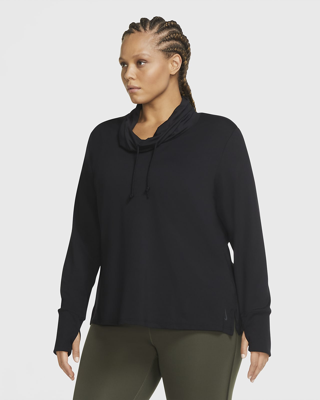 Nike Yoga Women's Jersey Top (Plus Size)