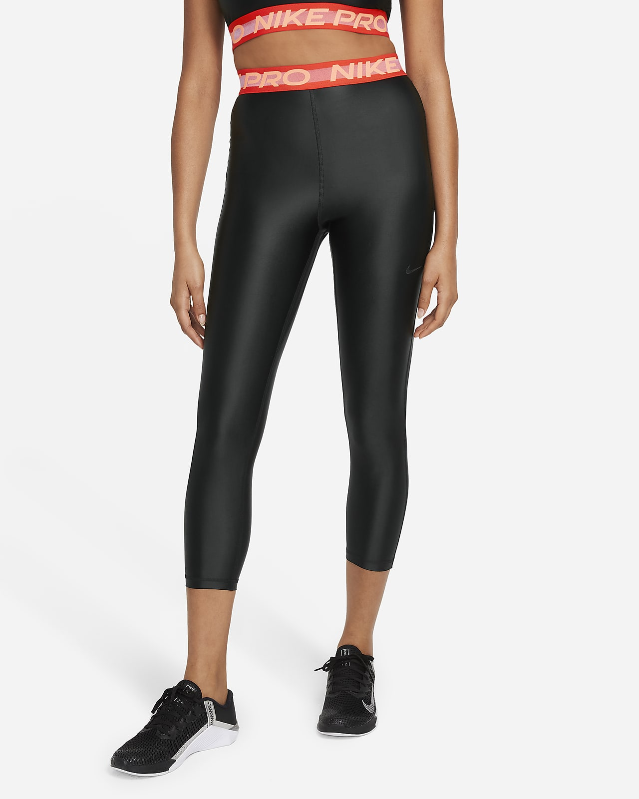 Nike Pro Women's High-Waisted 7/8 Leggings
