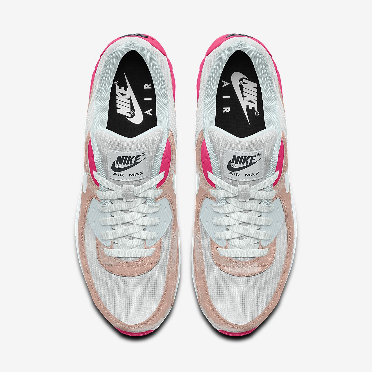 Scarpa lifestyle personalizzabile Nike Air Max 90 Unlocked By You Donna
