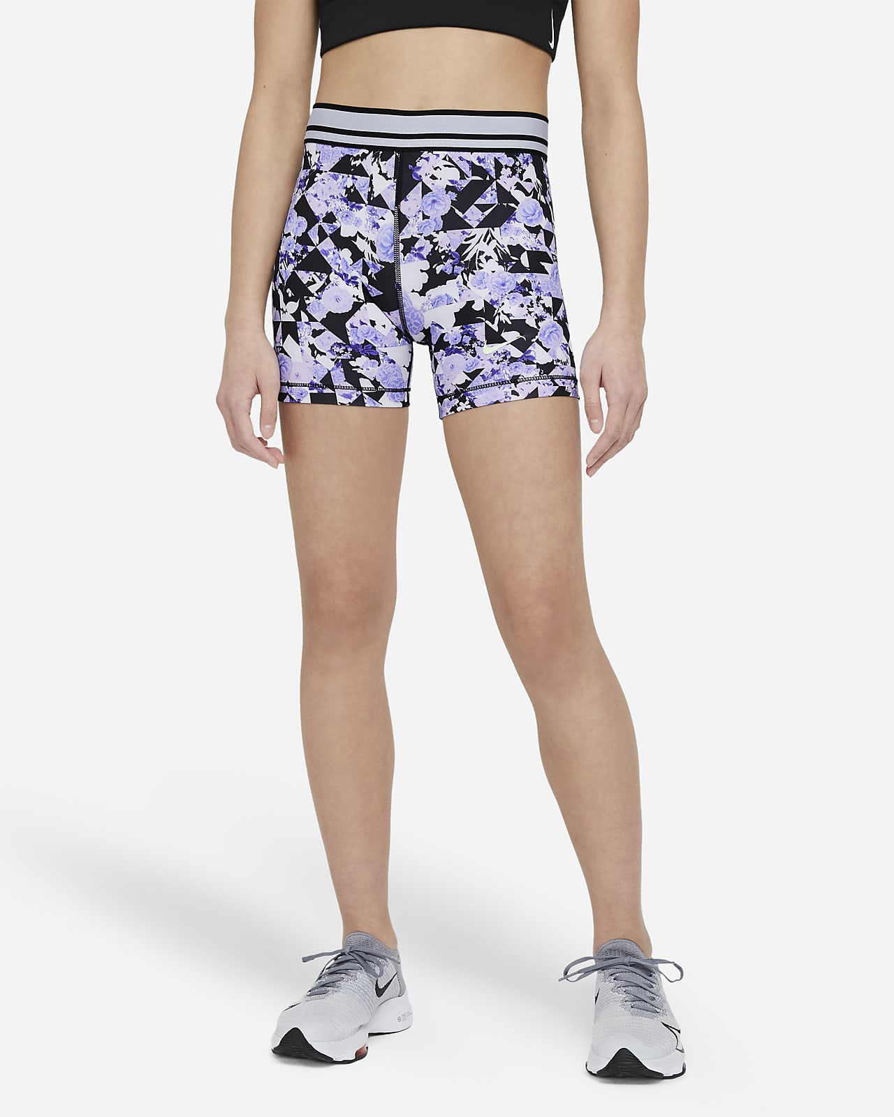 Nike Pro Older Kids' (Girls') Boyshorts