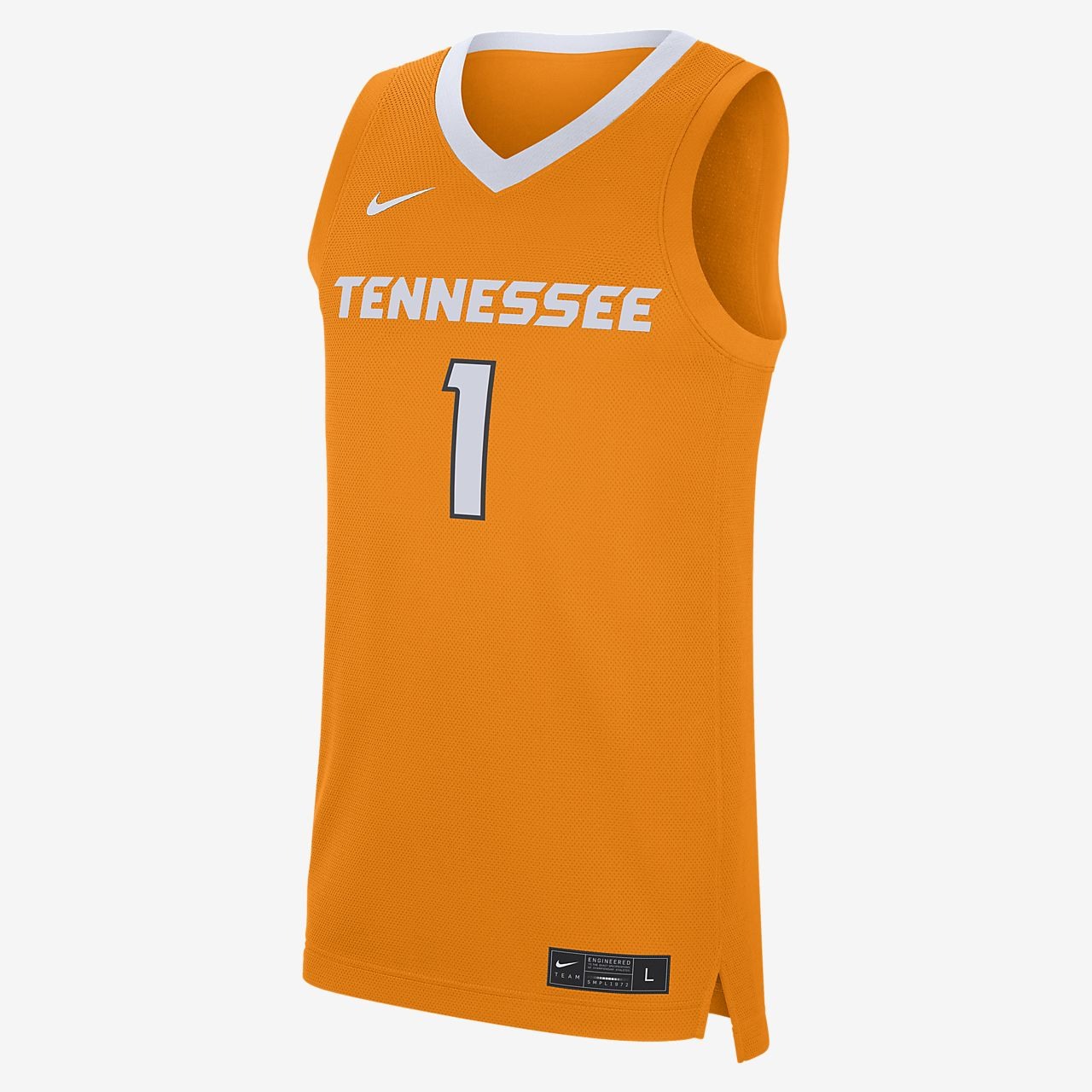 Nike College Replica (Tennessee) Men's Basketball Jersey