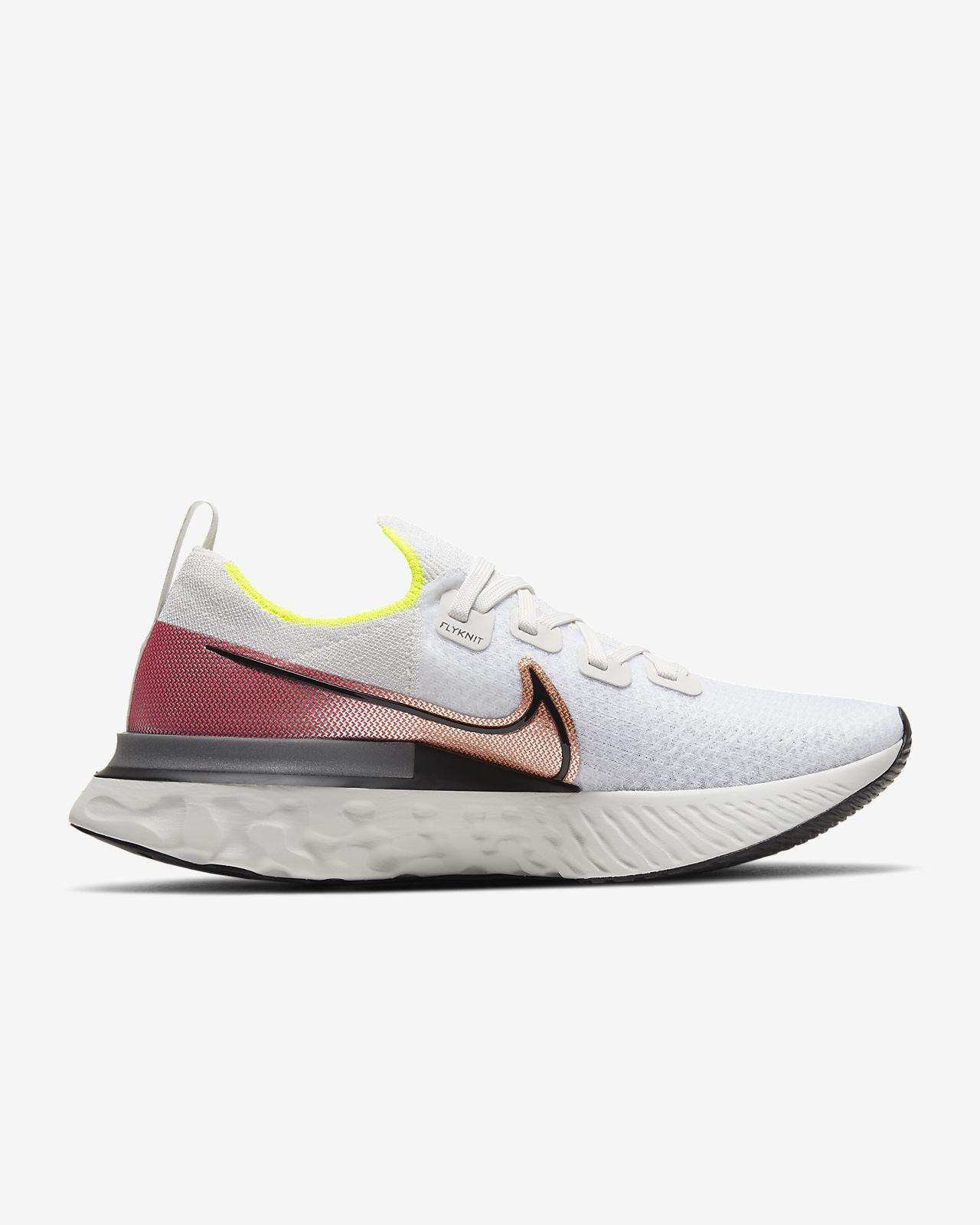 Nike React Running Shoes.