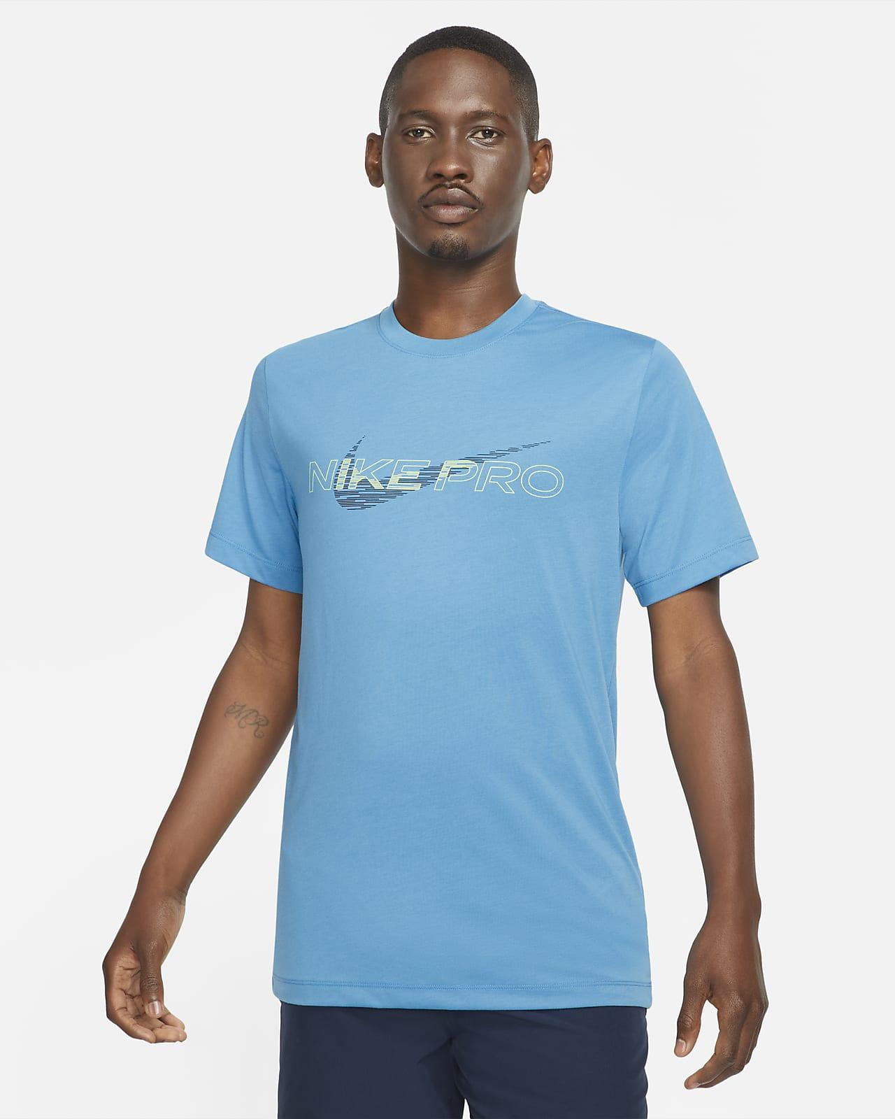 Nike Pro Dri-FIT Grafikli Erkek Tişörtü