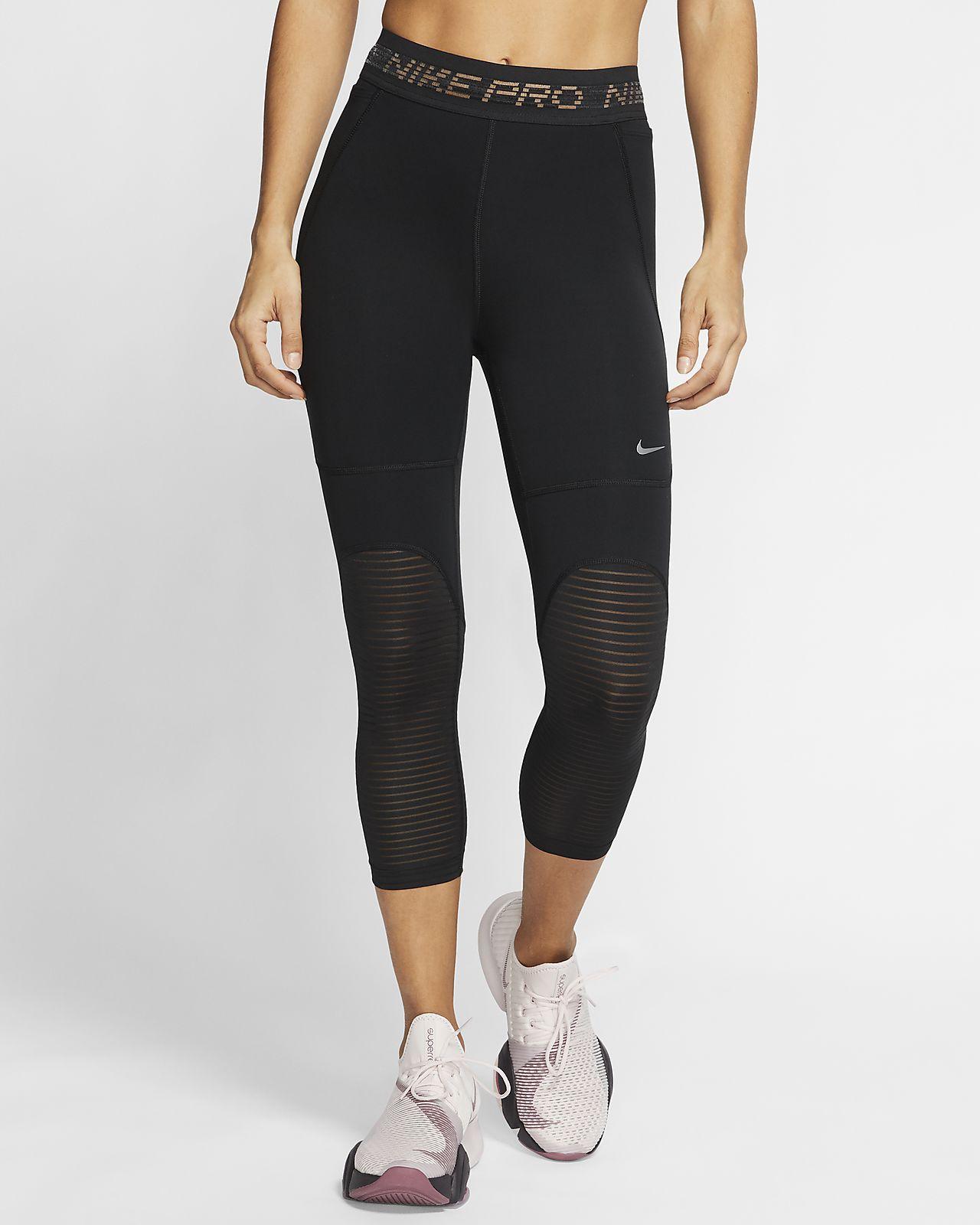 Женские укороченные тайтсы Nike Pro