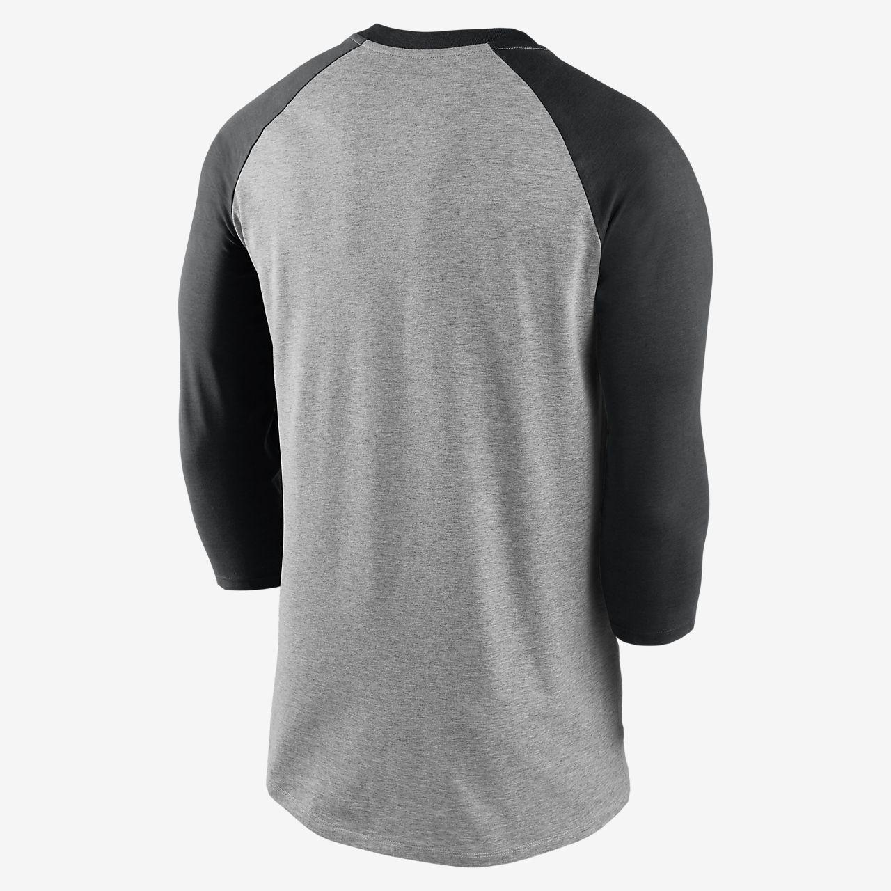 Tri Star Flag Kids Jersey Raglan T-Shirt Children 3//4 Sleeve Baseball Shirt Top