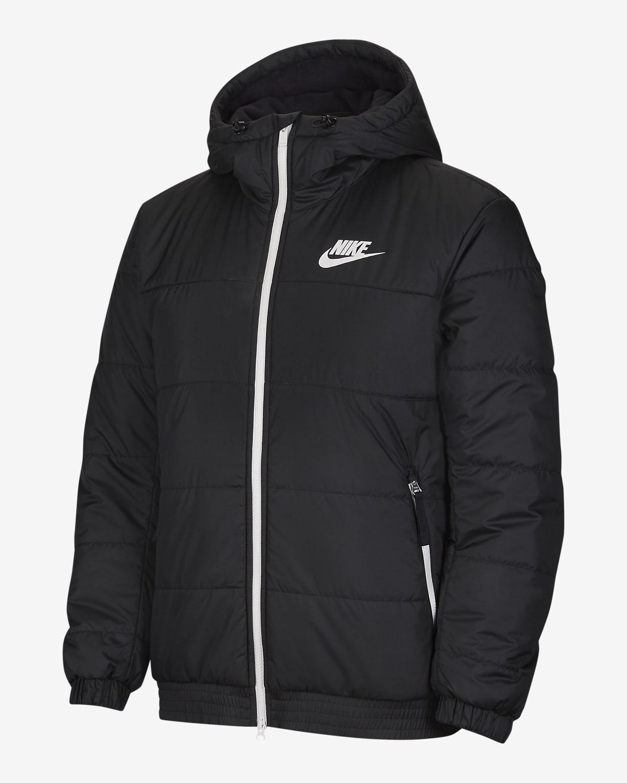 Nike Sportswear Synthetic-Fill Herenjack met rits en capuchon