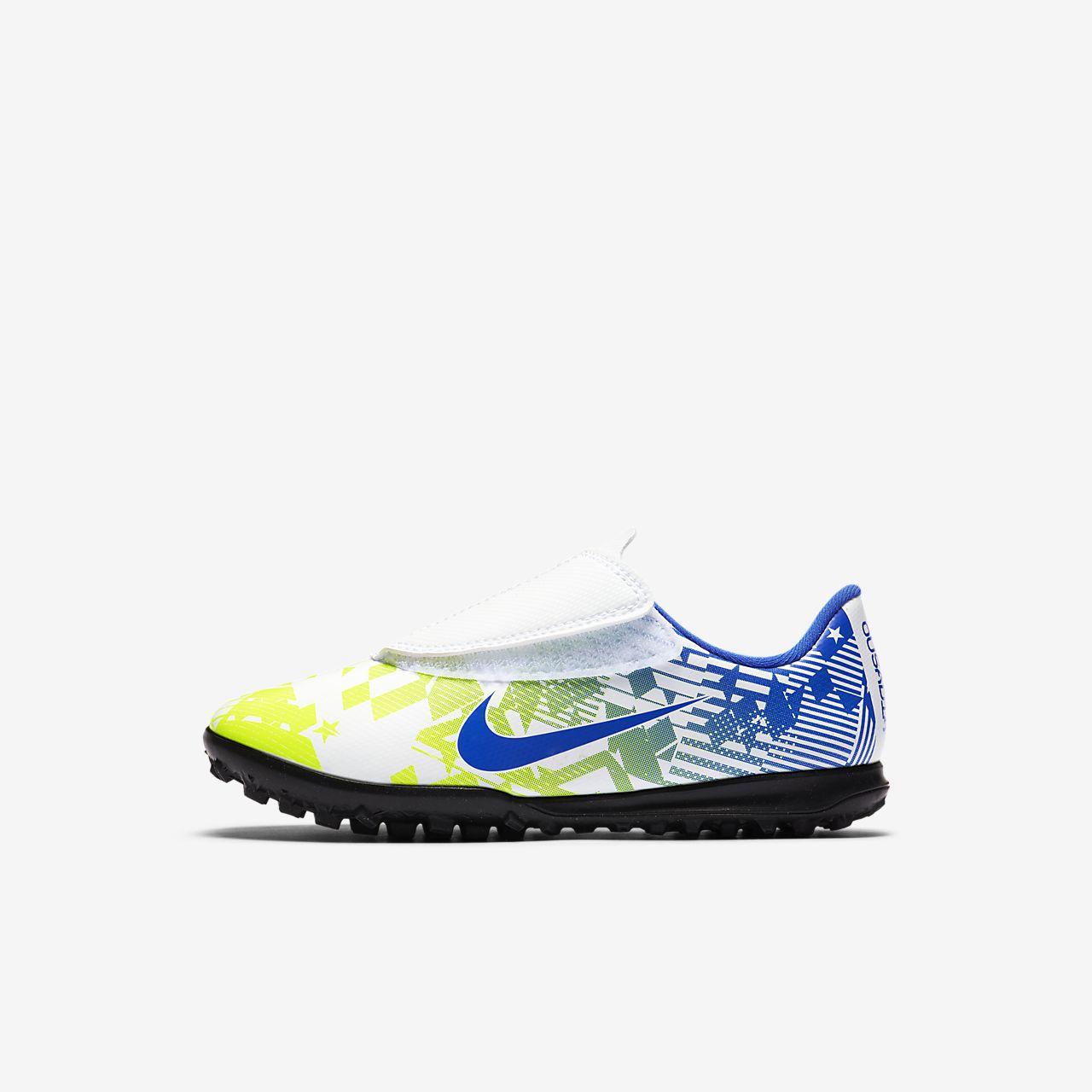 Chaussure de football pour surface synthétique Nike Jr. Mercurial Vapor 13 Club Neymar Jr. TF pour Jeune enfant