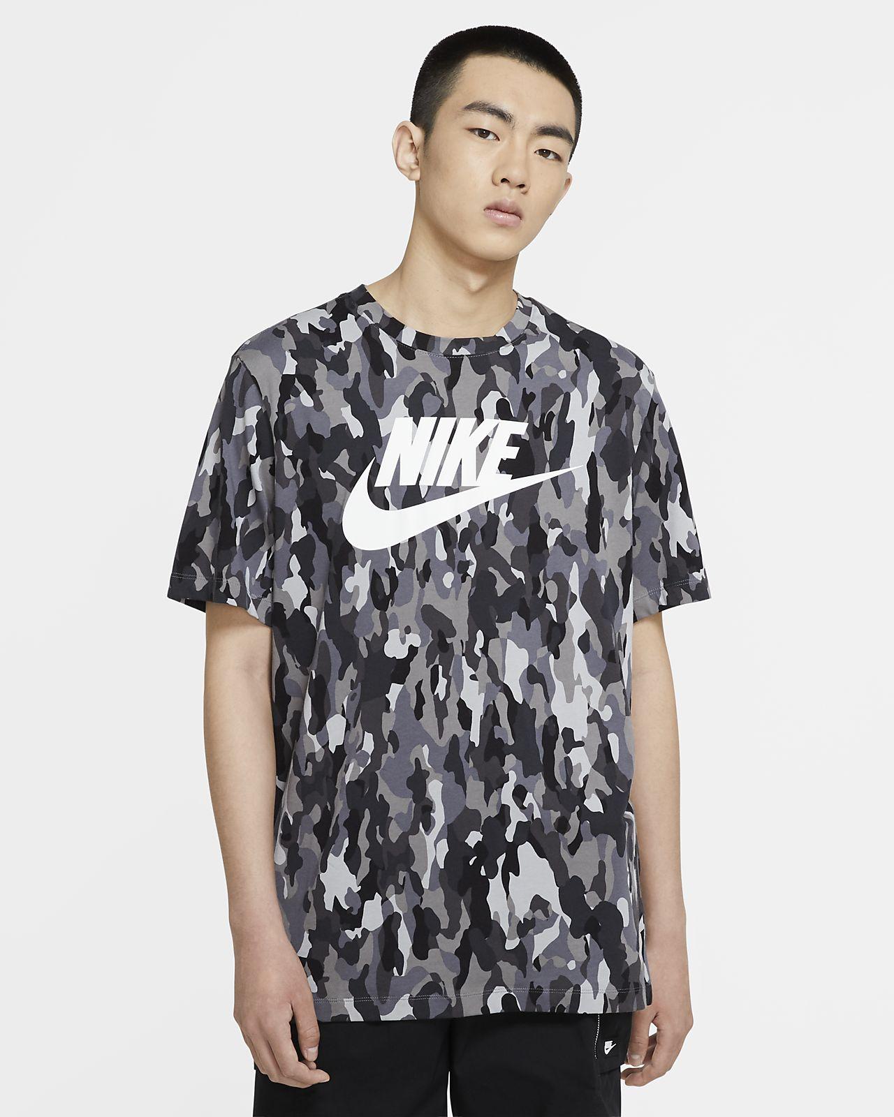 Nike Sportswear Men's Printed Camo T-Shirt