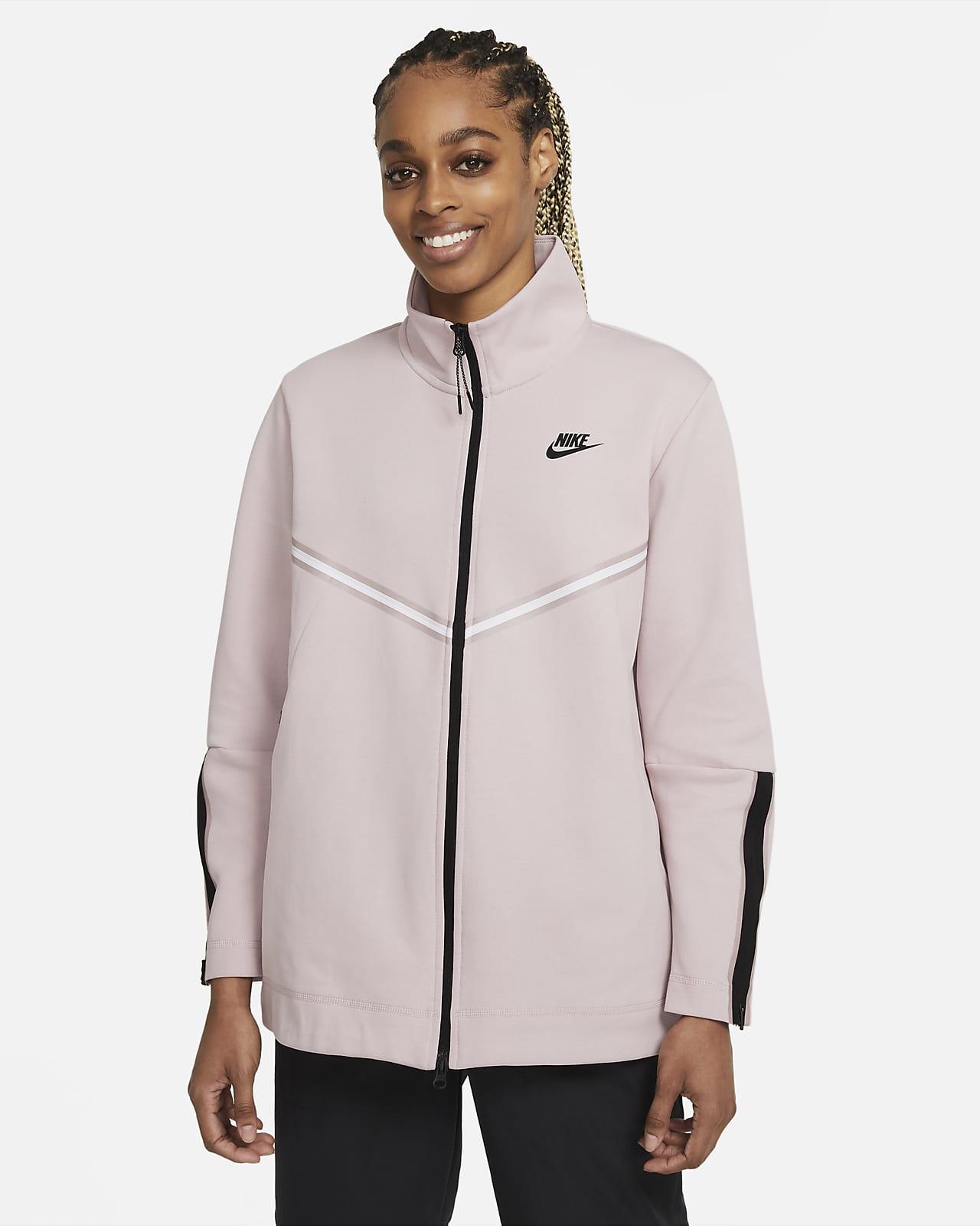 Manga larga de cierre completo para mujer Nike Sportswear Tech Fleece