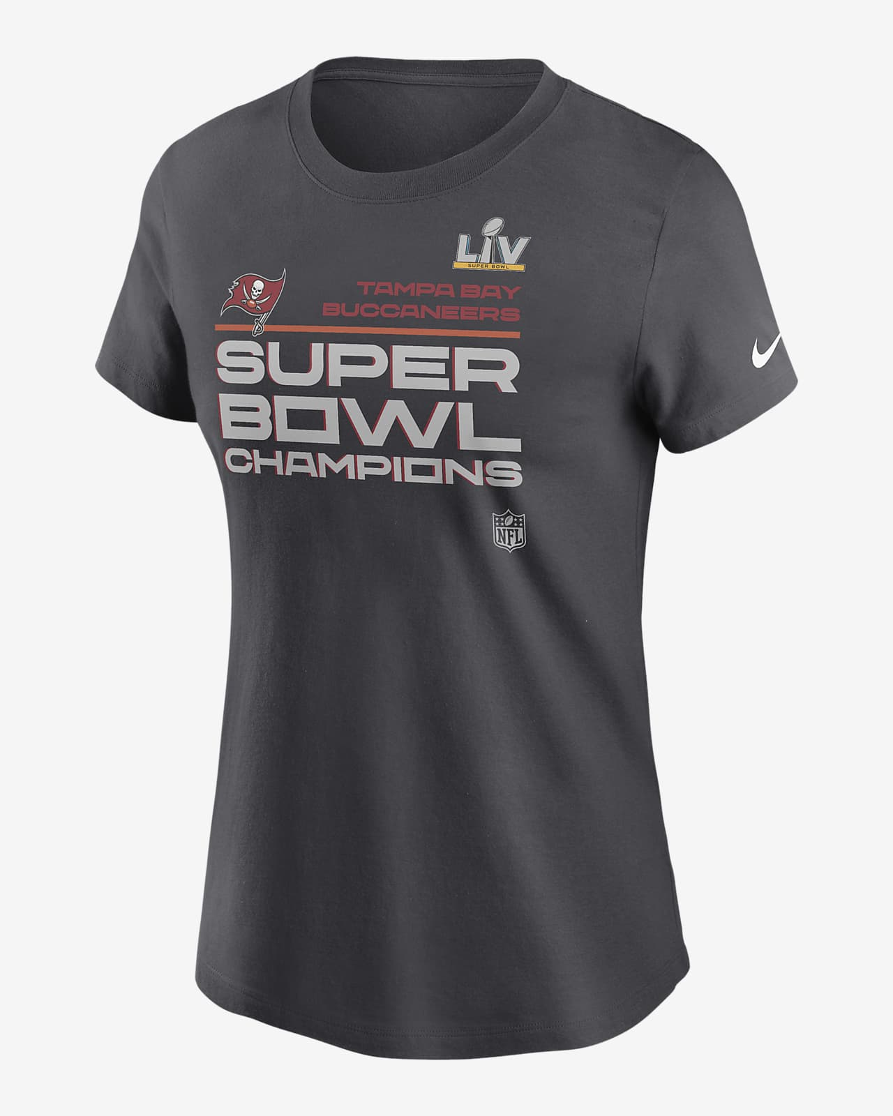 Nike Super Bowl LV Champions Trophy Collection (NFL Tampa Bay Buccaneers) Women's T-Shirt