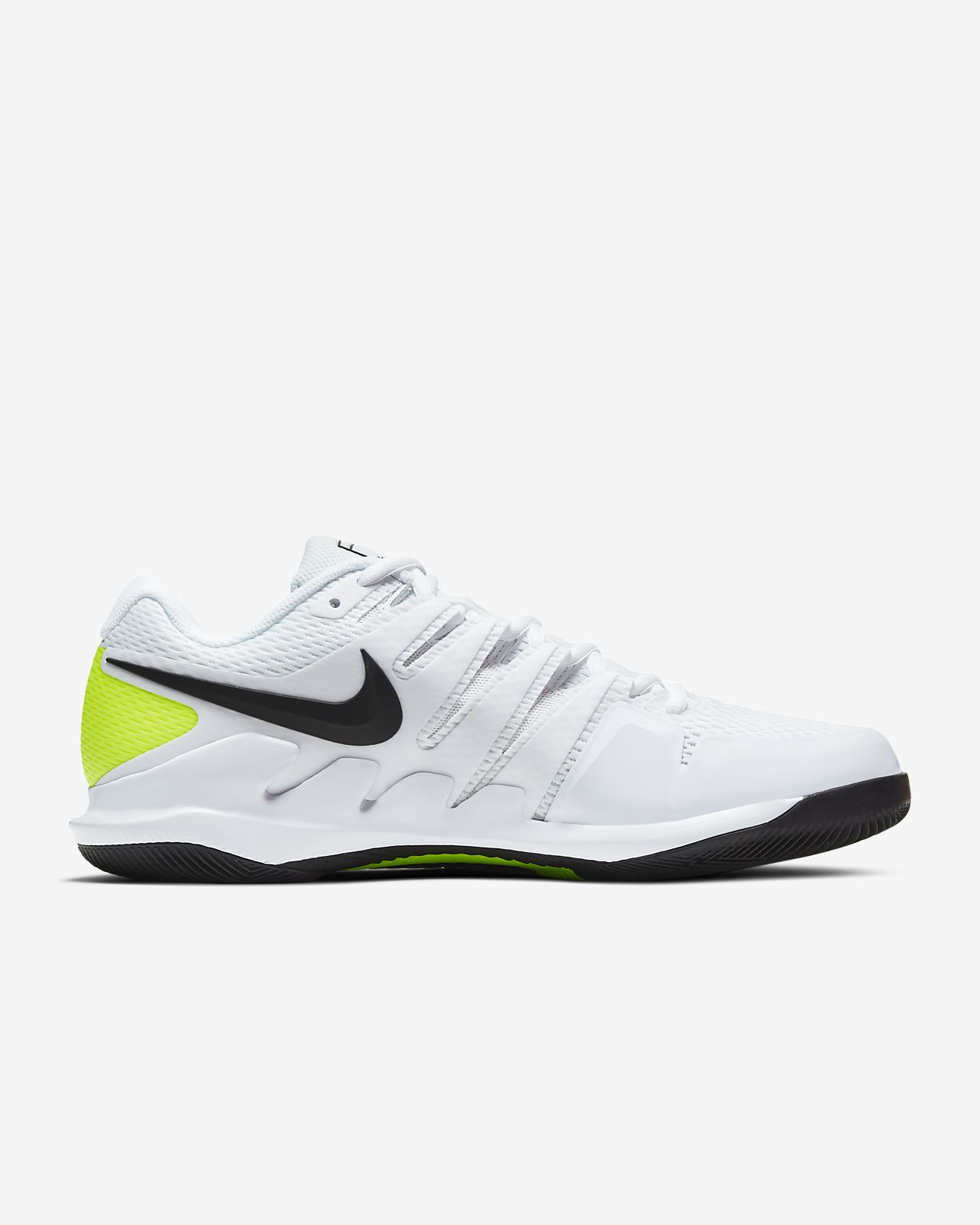 certificate White Nike Air Max Cage Court Lightweight Mens