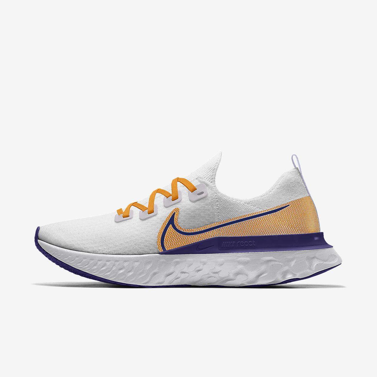 Nike React Infinity Run Flyknit By You Custom Women's Running Shoe