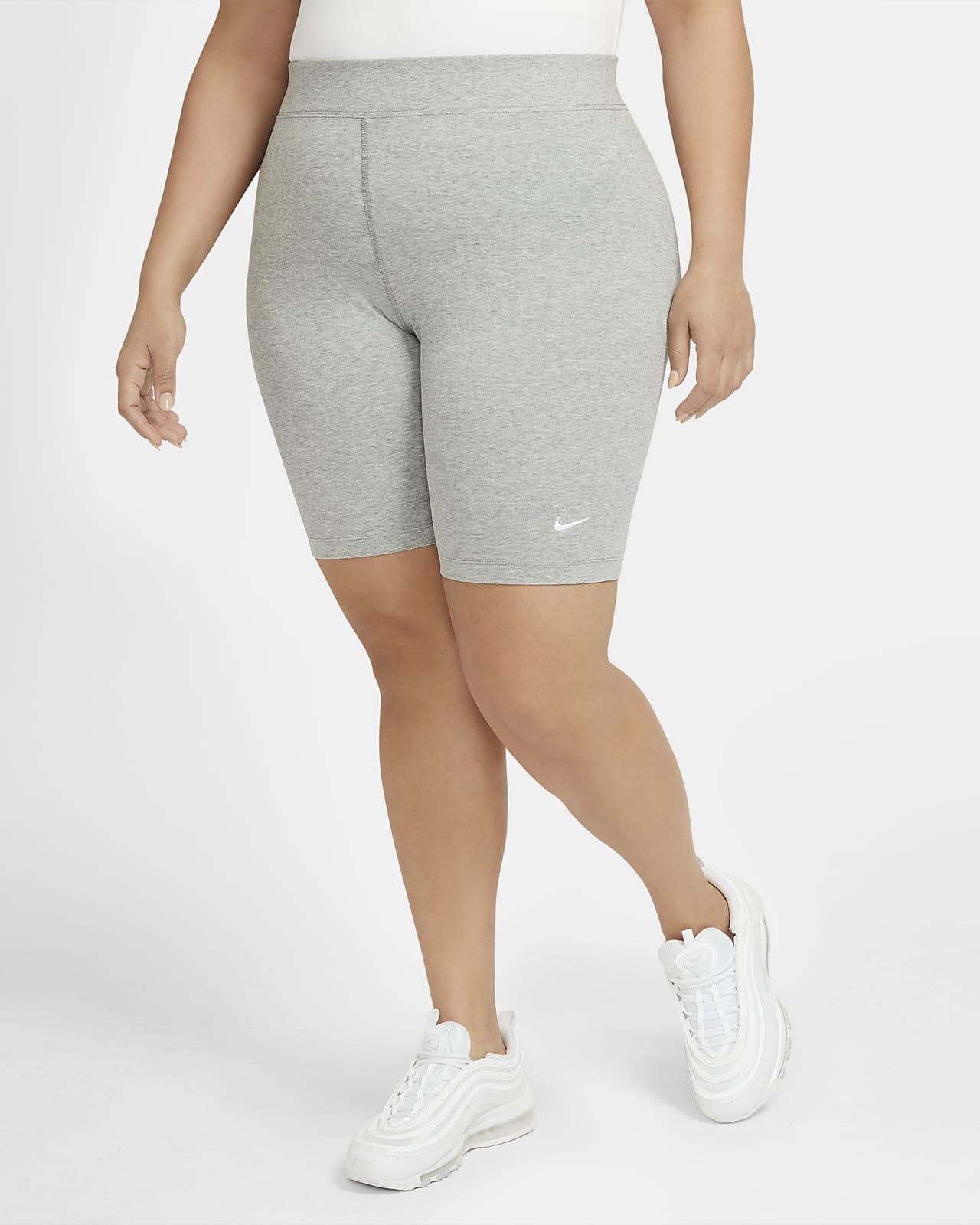 Nike Sportswear Essential Women's Mid-Rise Bike Shorts (Plus Size)