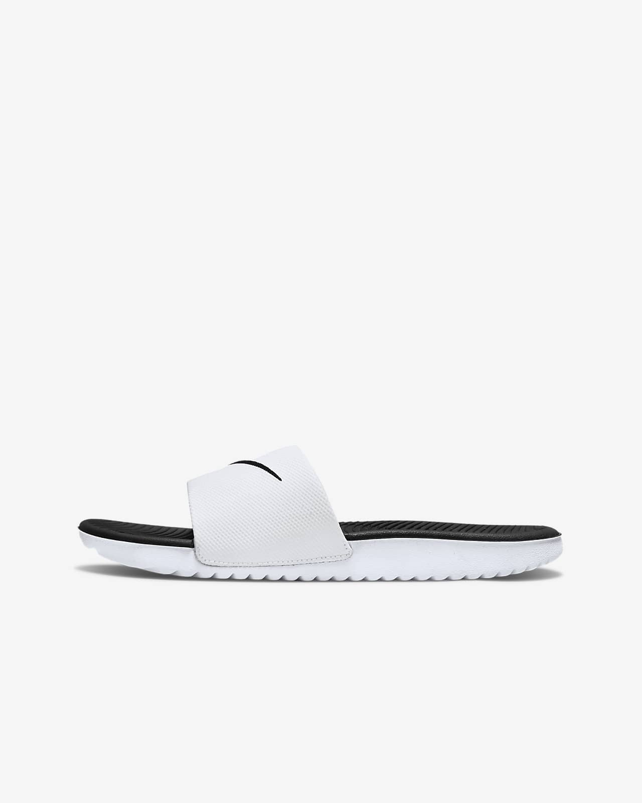 Pantofle Nike Kawa promalé/větší děti