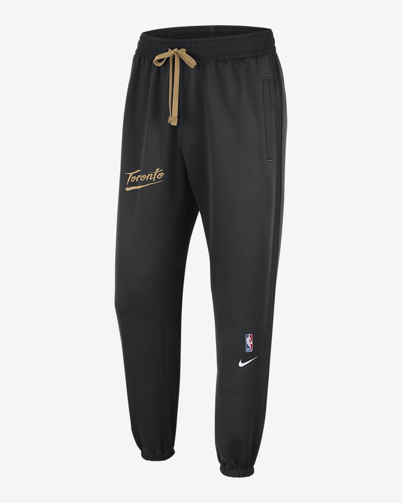 Pantalones de NBA Nike Therma Flex para hombre Toronto Raptors Showtime City Edition
