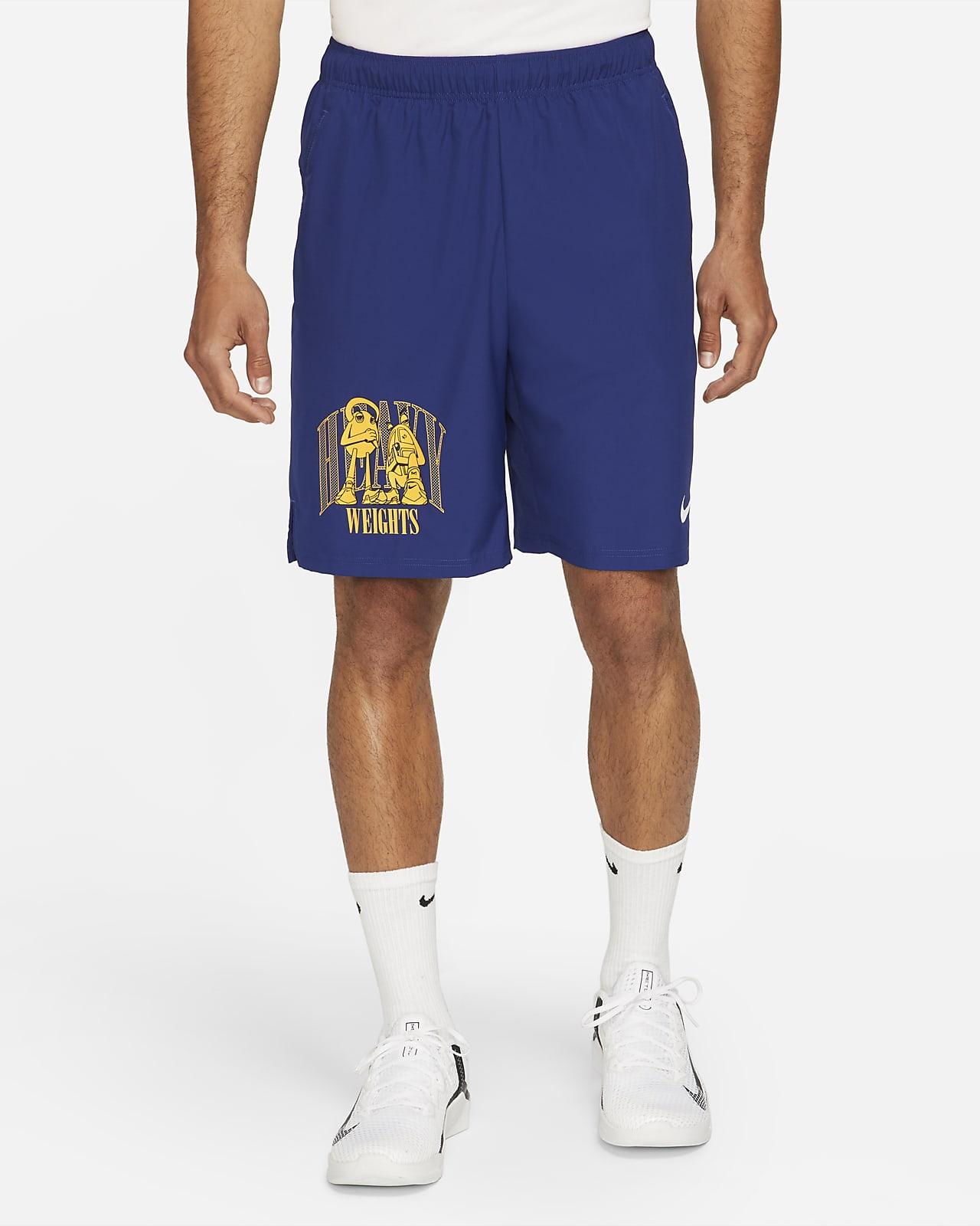 Short de training tissé à motif Nike Dri-FIT pour Homme
