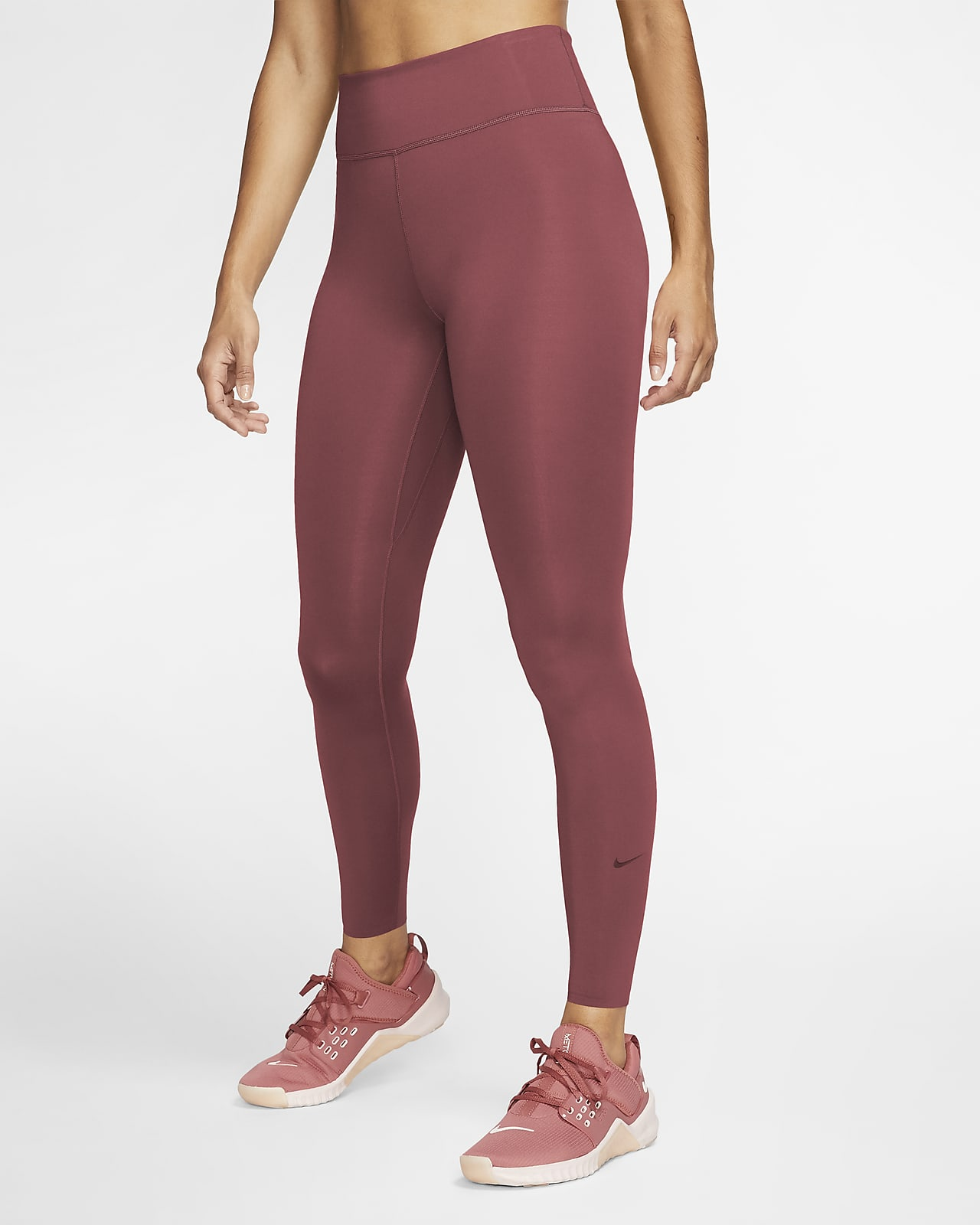 Leggings de tiro medio para mujer Nike One Luxe