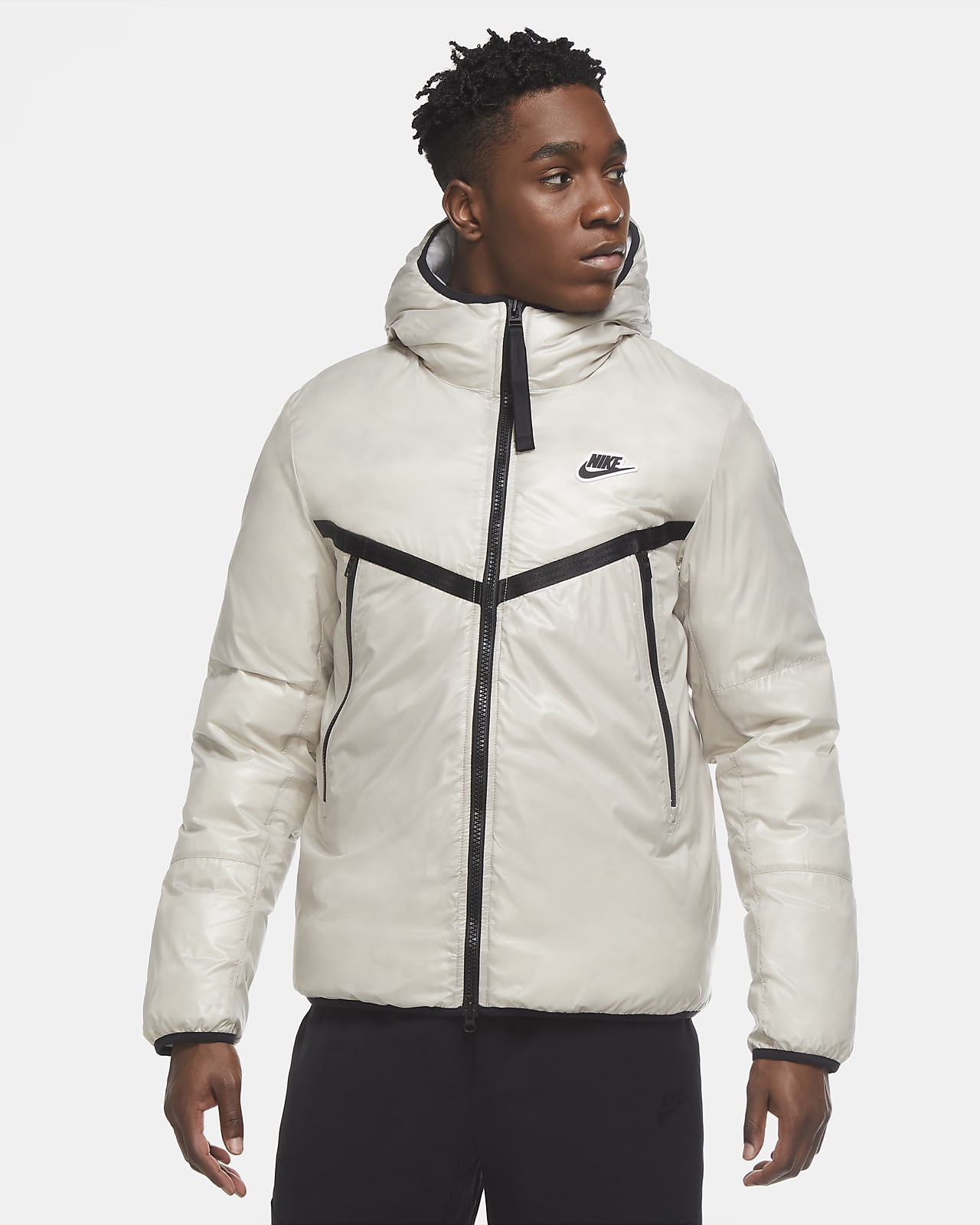 Chamarra Repel para hombre Nike Sportswear Synthetic-Fill Windrunner