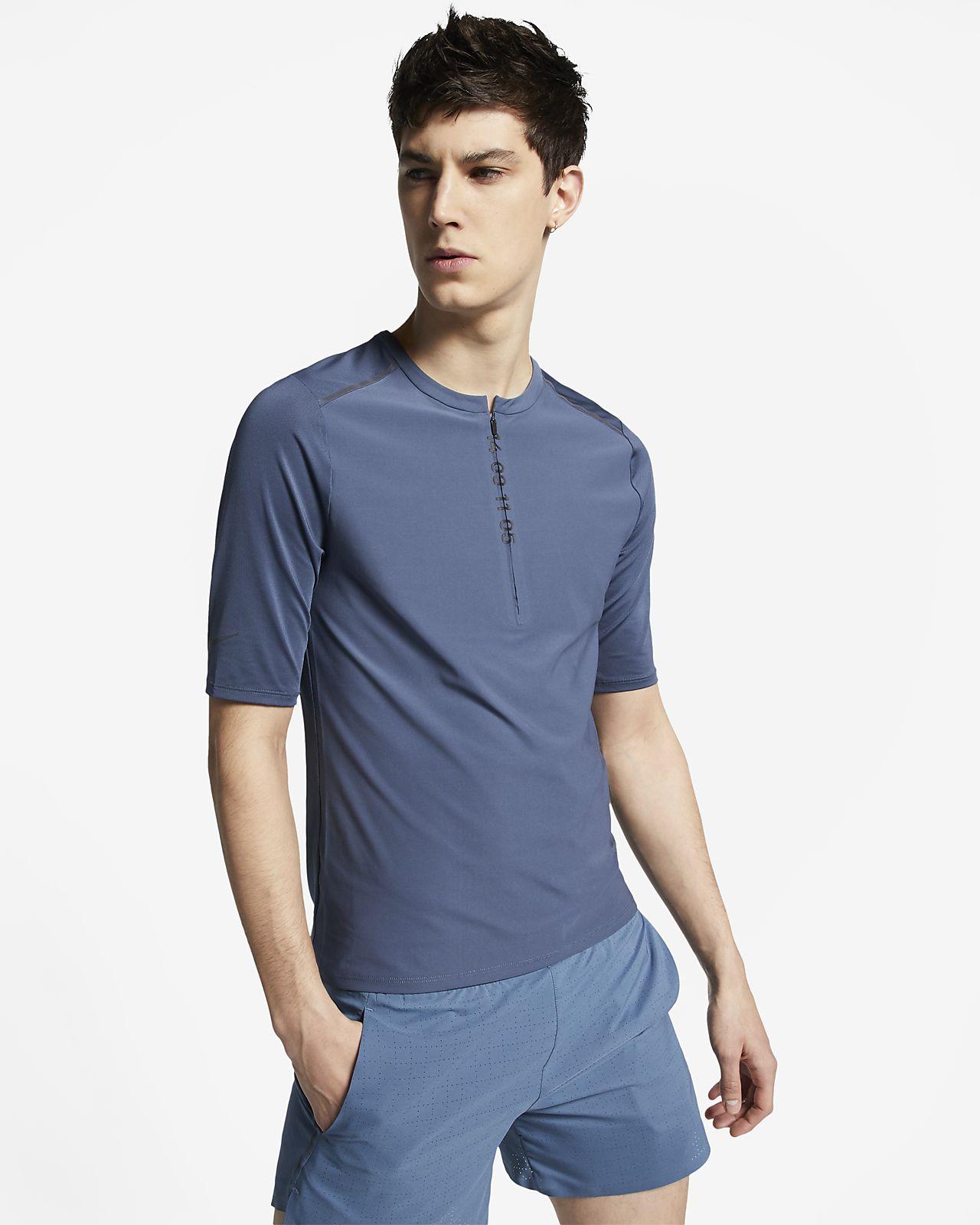 Nike Tech Pack Men's 1/2-Zip Short-Sleeve Running Top