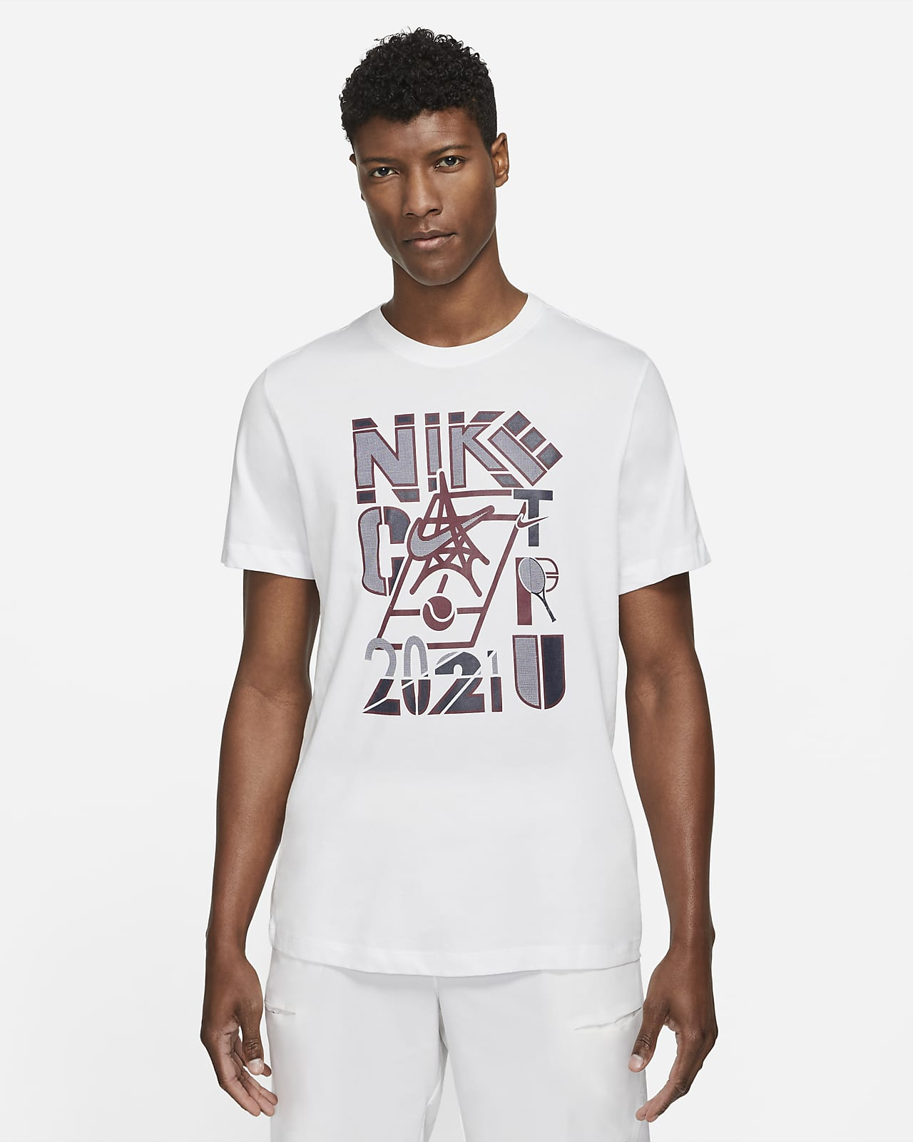 NikeCourt Men's Tennis T-Shirt