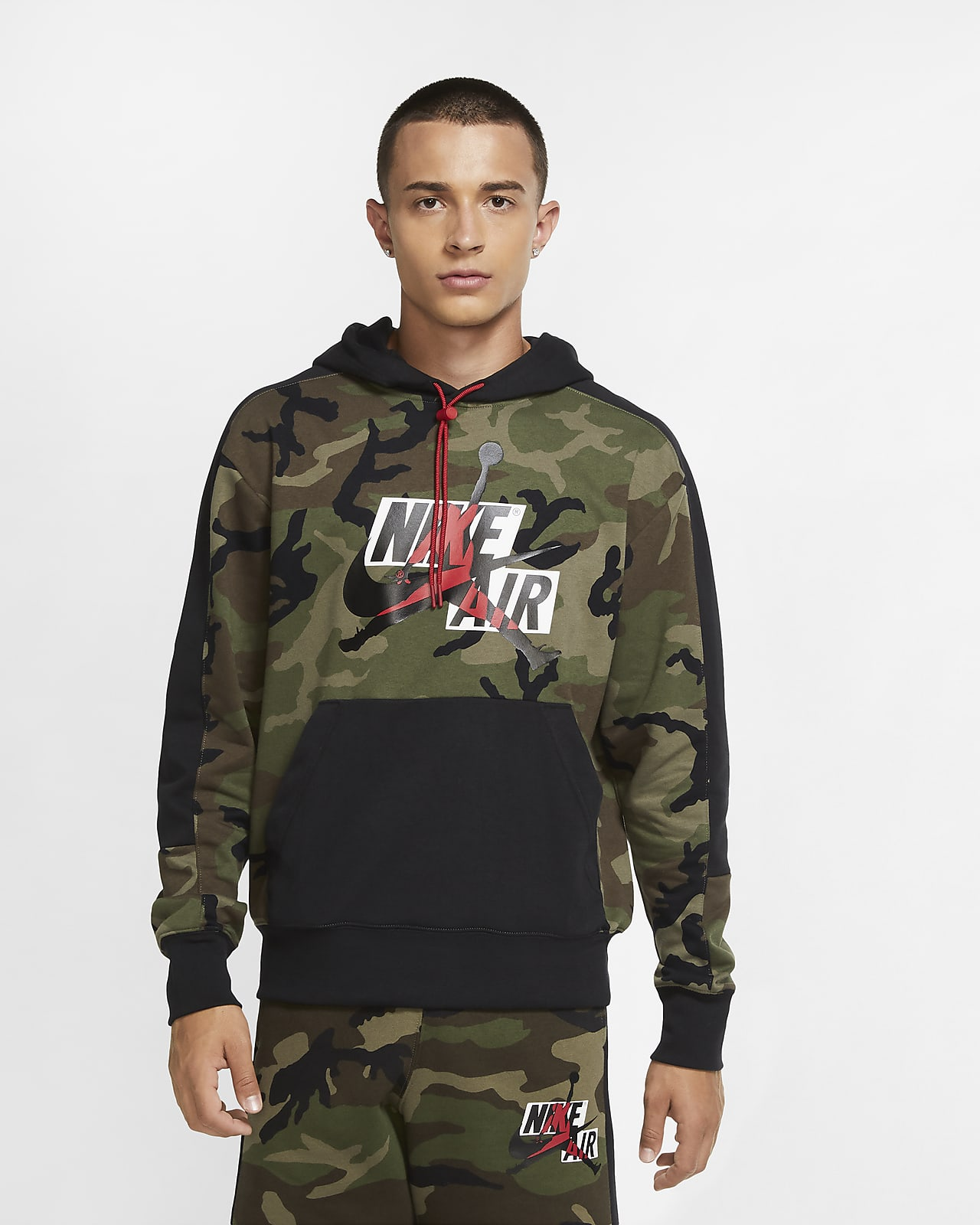 Jordan Jumpman Classics Men's Camo Fleece Sweatshirt