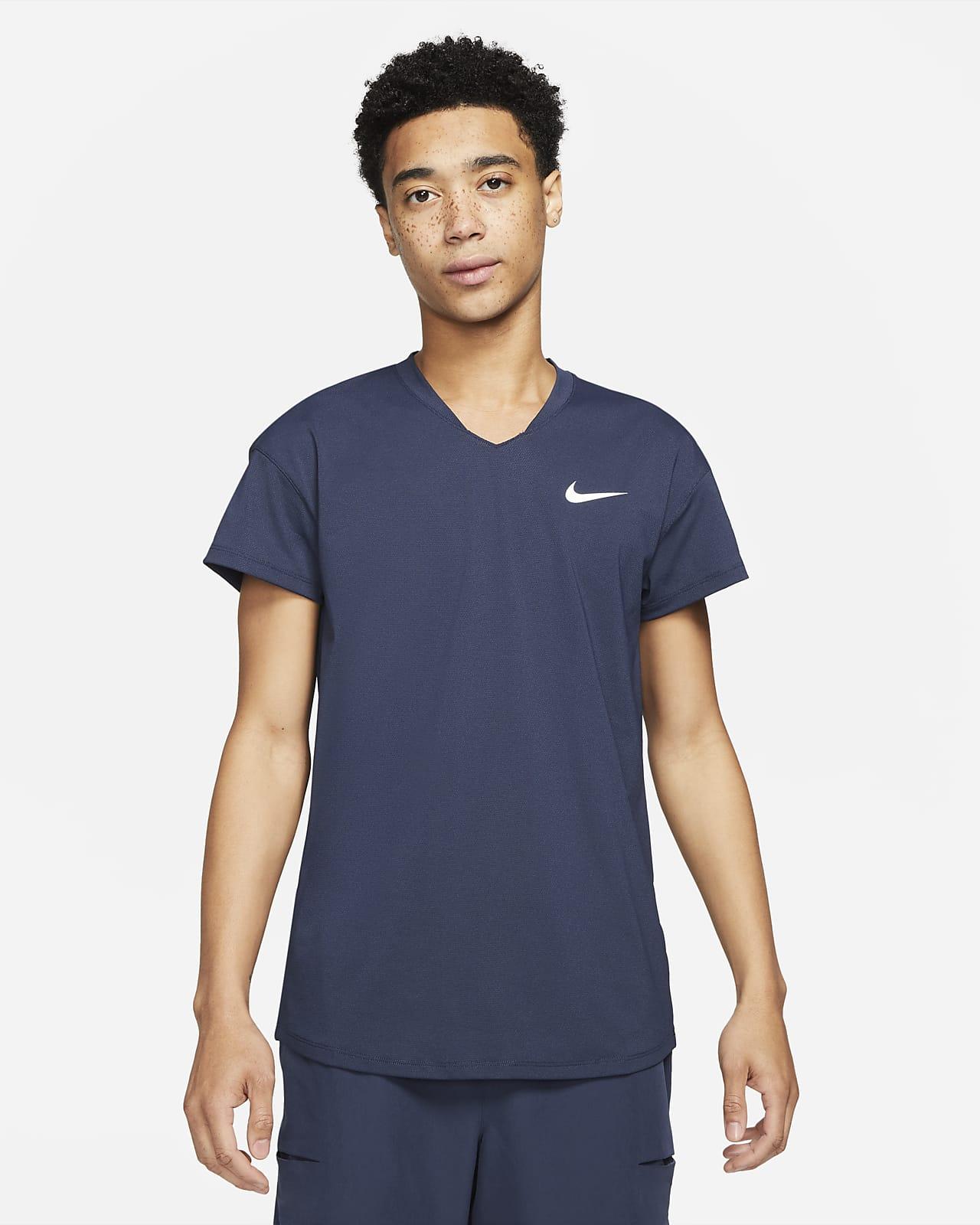Prenda para la parte superior de tenis para hombre NikeCourt Breathe Slam