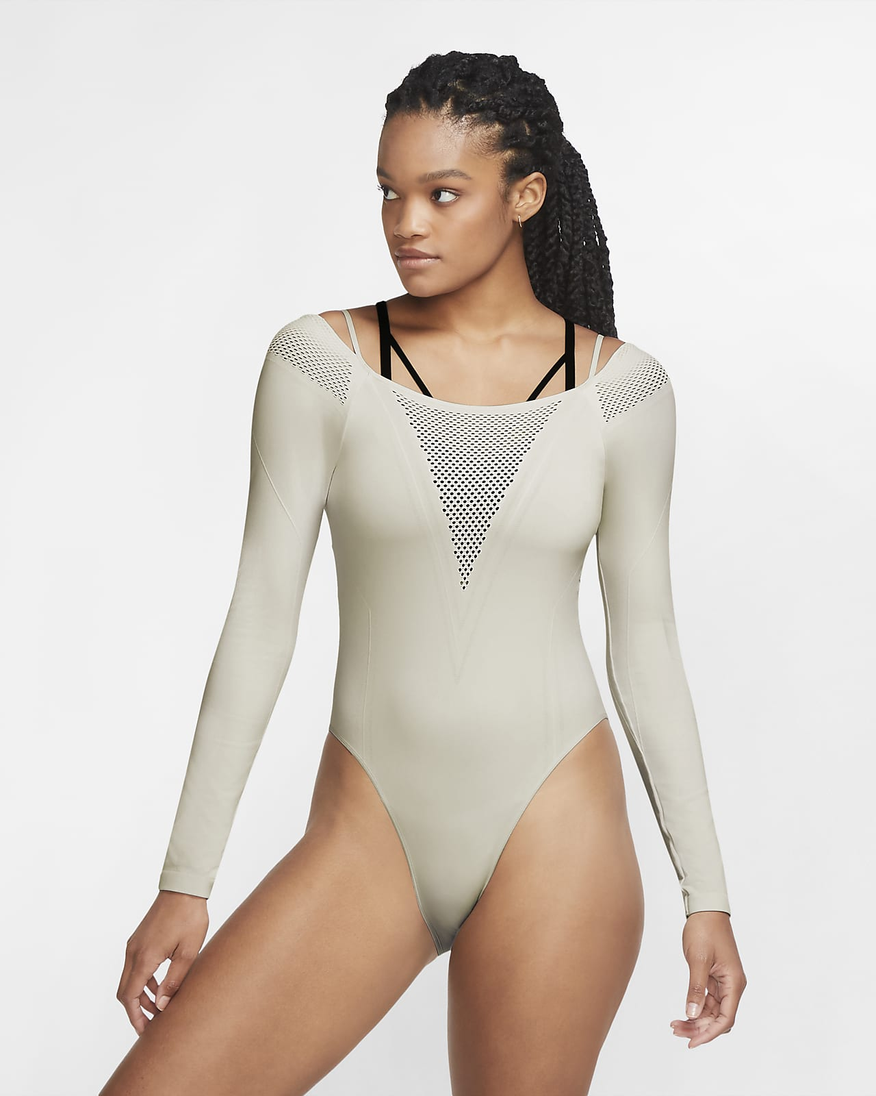 Nike City Ready 女子长袖训练连体衣