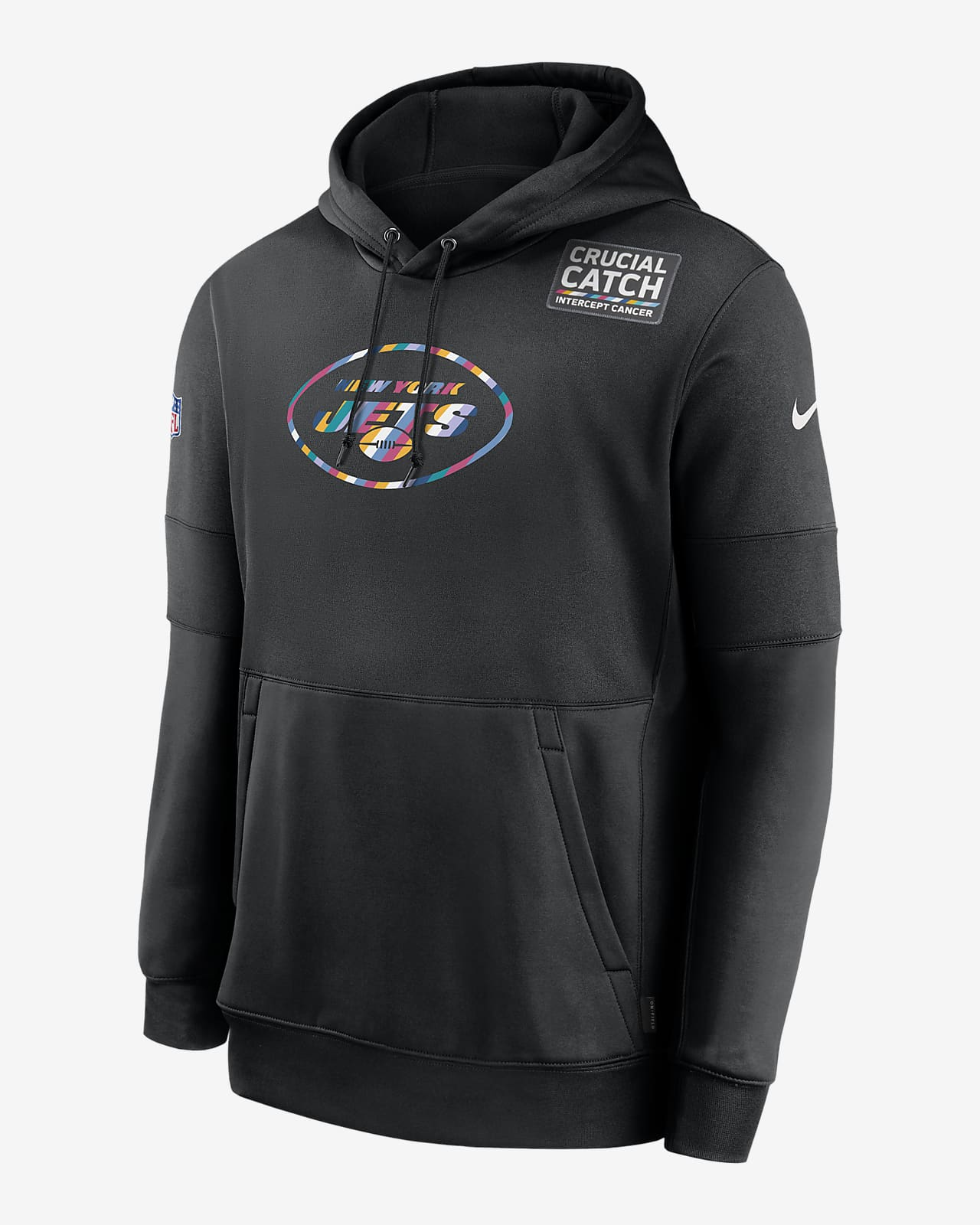 Nike Therma Crucial Catch (NFL Jets) Men's Hoodie