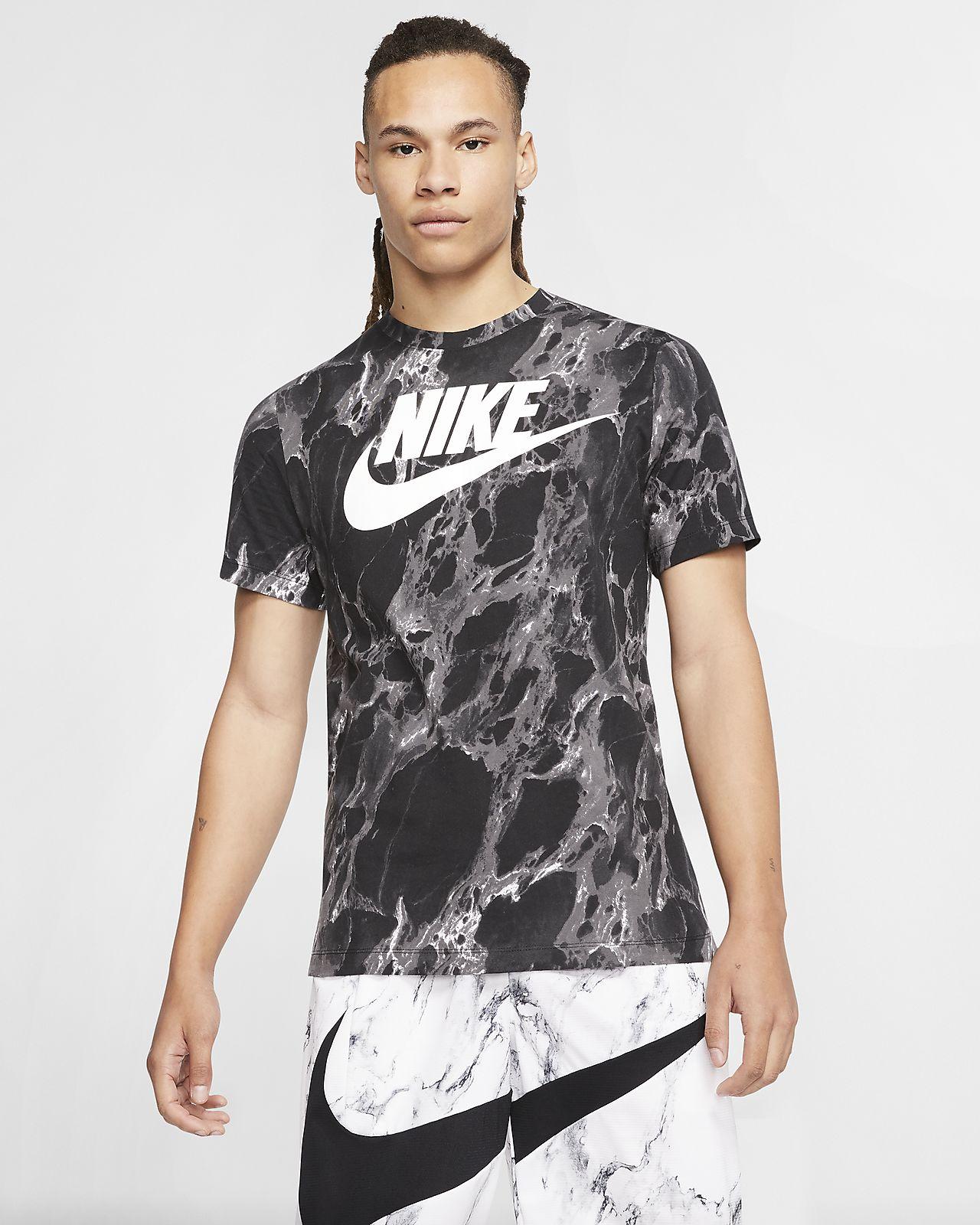 Ανδρικό T-Shirt μπάσκετ Nike Swoosh