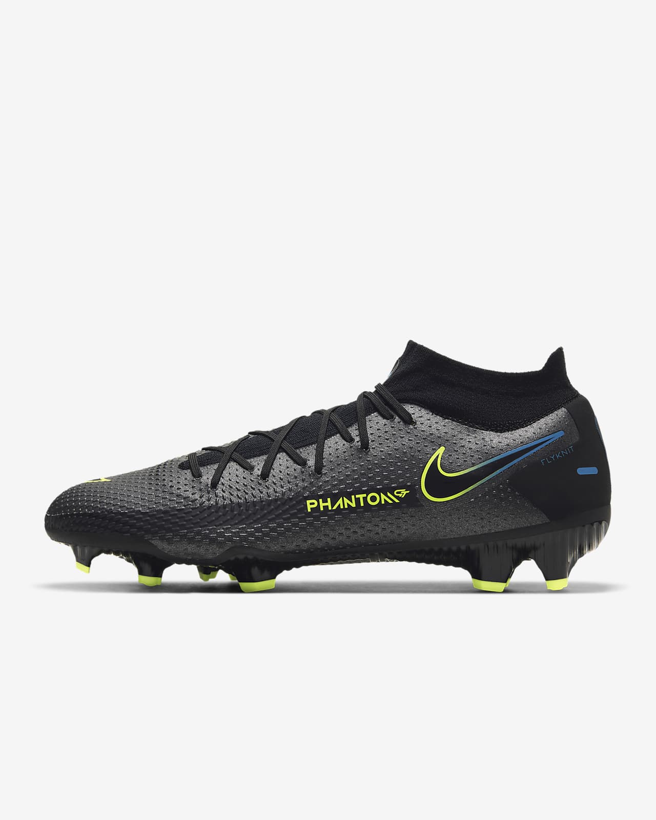 Chaussure de football à crampons pour terrain sec Nike Phantom GT Pro Dynamic Fit FG