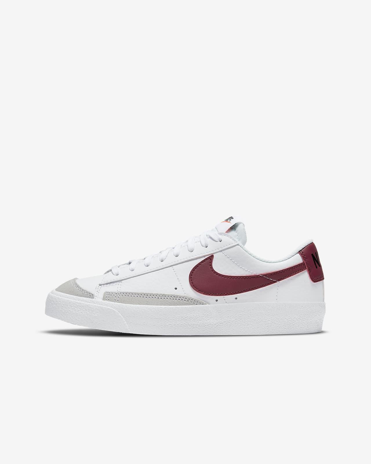 Calzado para niños talla grande Nike Blazer Low '77