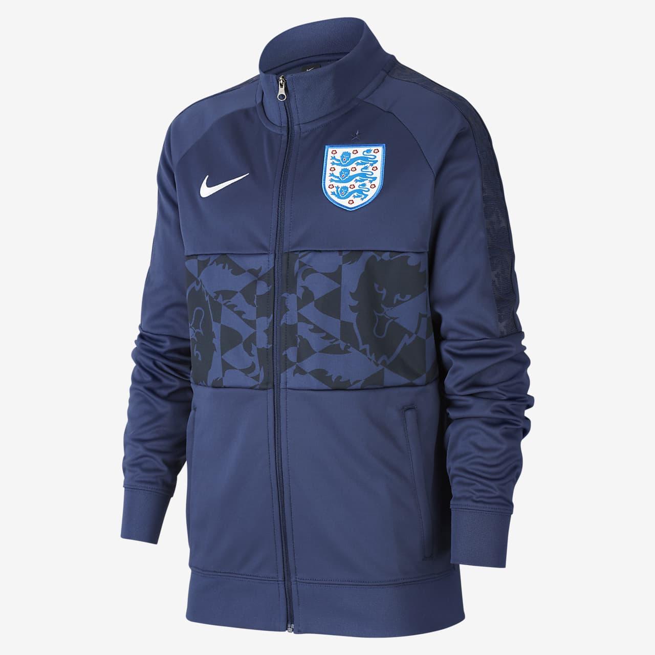 England Older Kids' Football Jacket