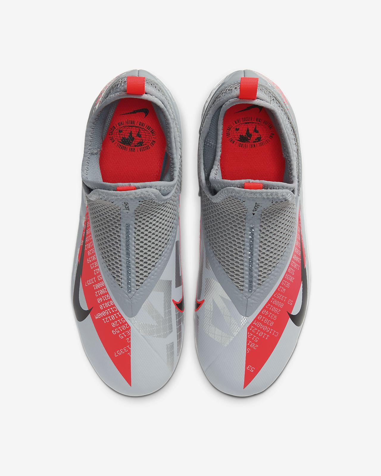 Nike Jr. Phantom Vision 2 Academy Dynamic Fit MG Fußballschuh für verschiedene Böden für jüngereältere Kinder