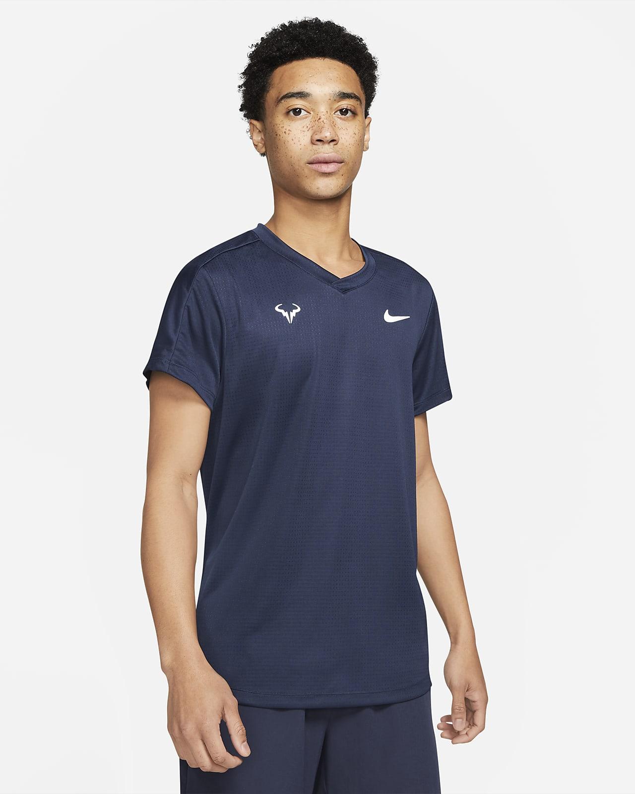 Camisola de ténis de manga curta Rafa Challenger para homem