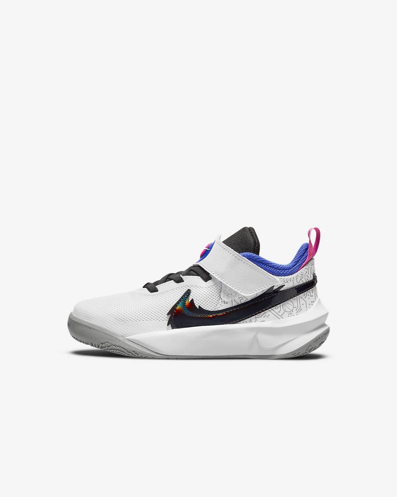 Nike Team Hustle D 10 SE x Space Jam: A New Legacy Little Kids' Shoes