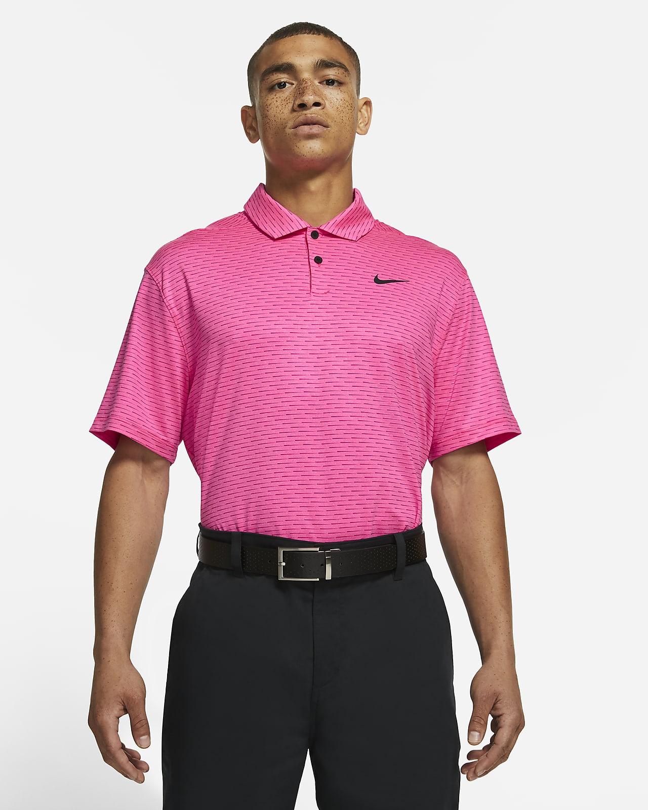 Polo de golf à rayures Nike Dri-FIT Vapor pour Homme