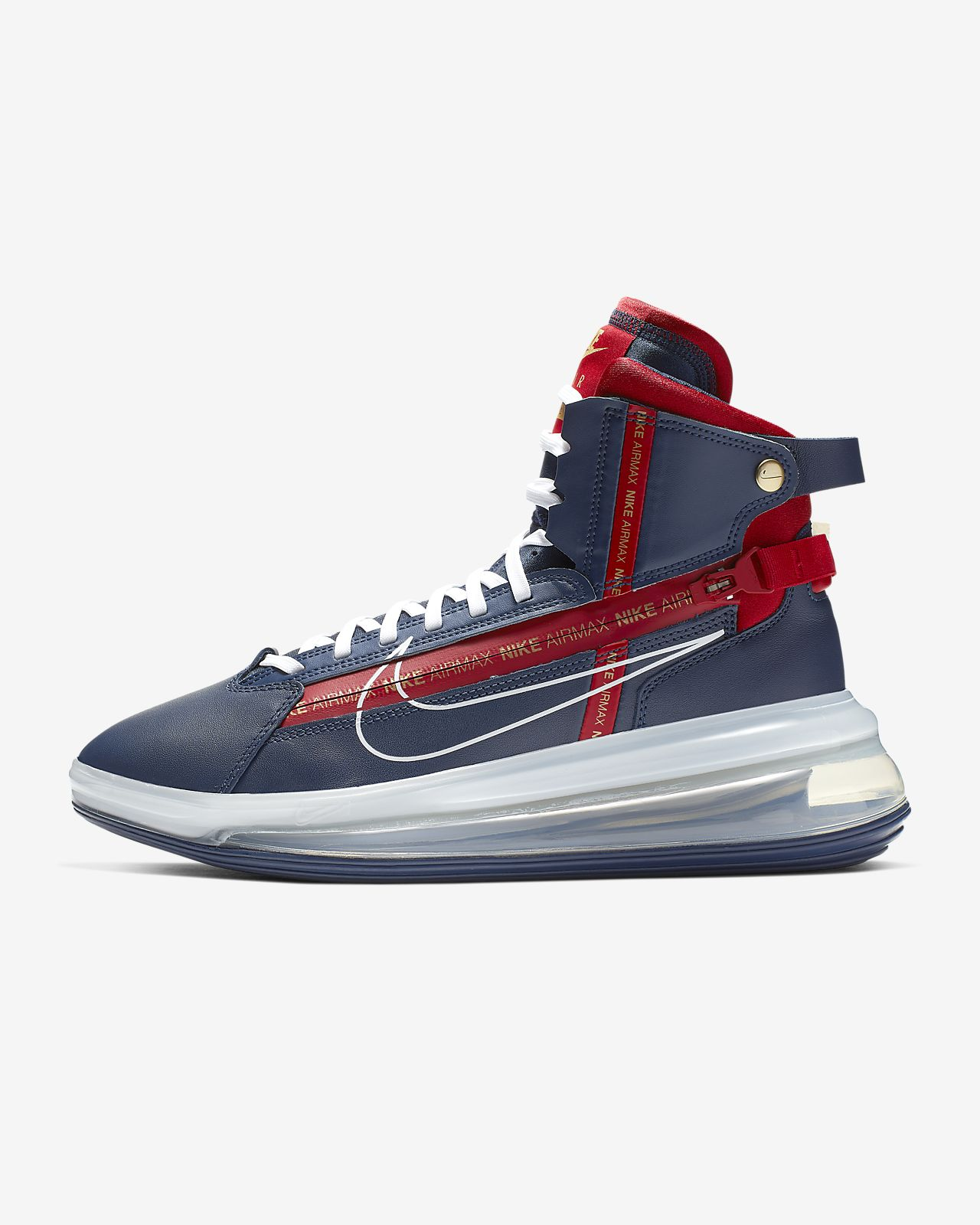 air max 720 white midnight navy rose gold